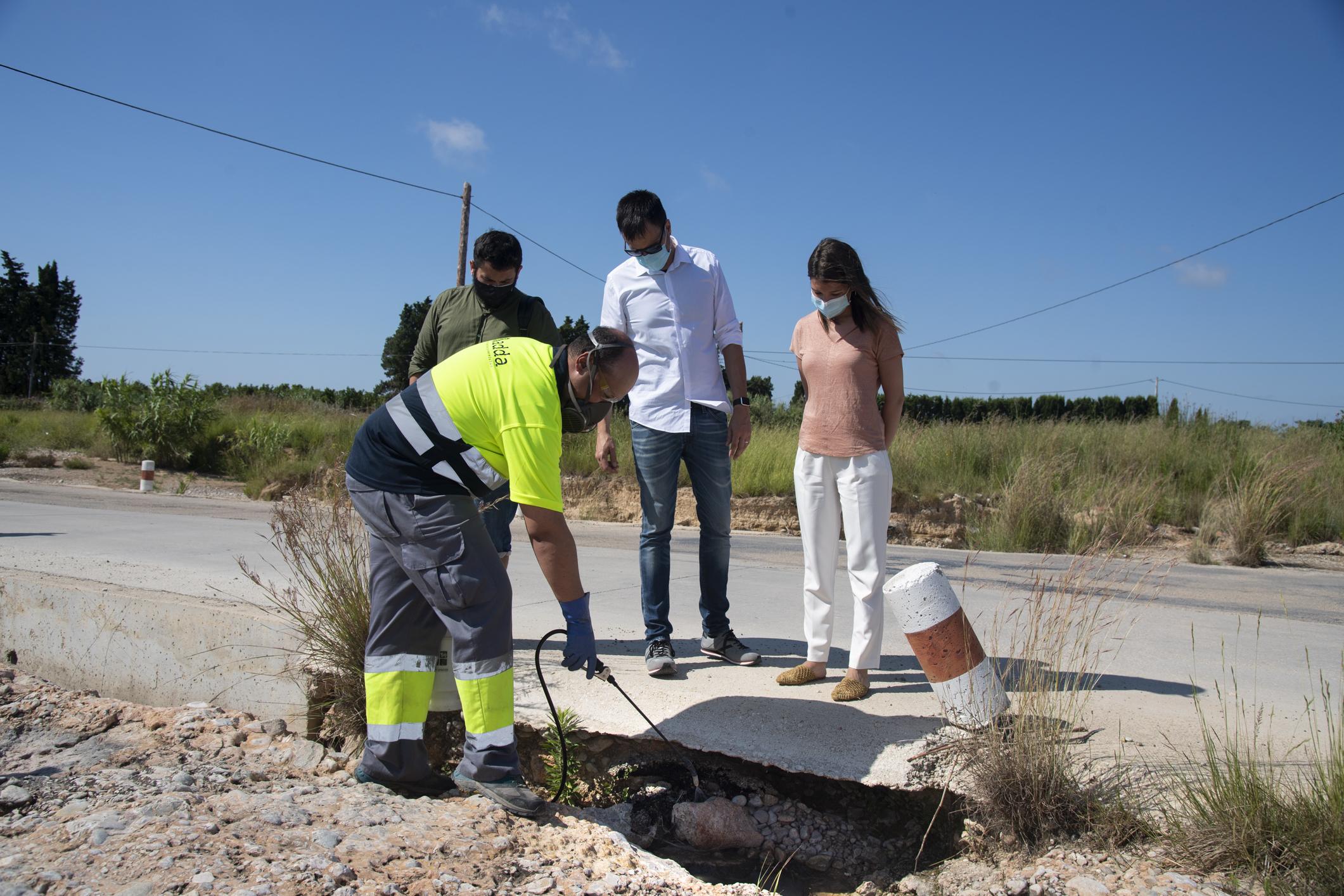 La Diputación de Castellón intensifica los tratamientos contra los mosquitos