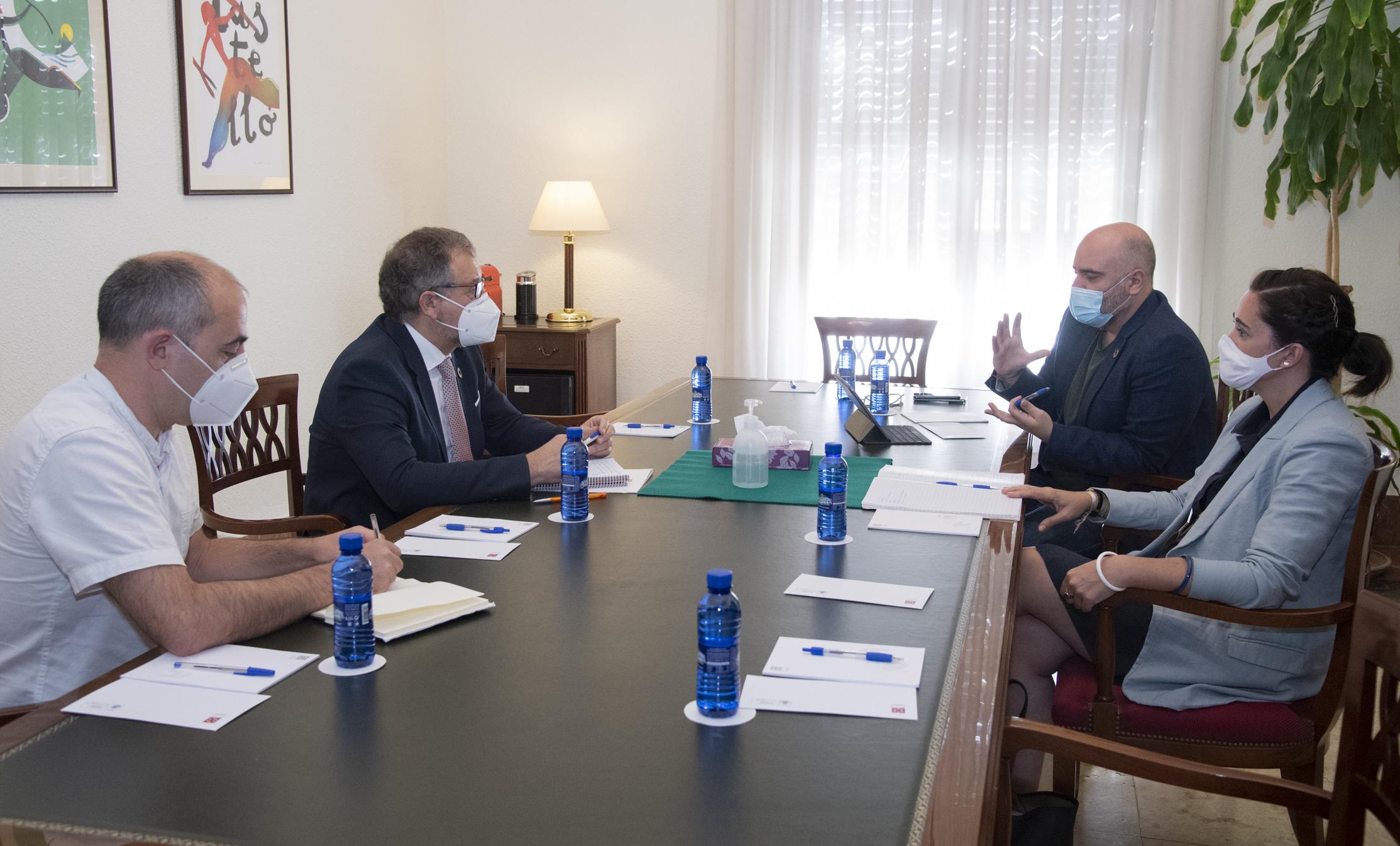 La Diputación de Castellón respalda los proyectos del Consell para fomentar la rehabilitación de vivienda como apoyo para los pueblos de interior