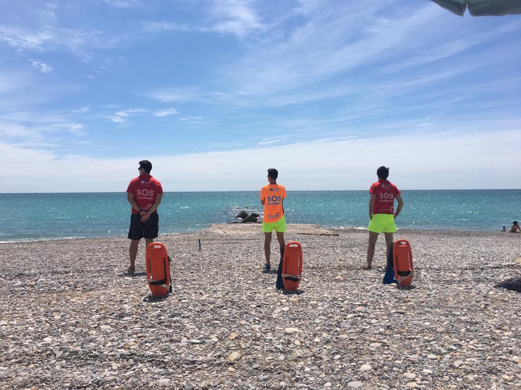 La playa Les Marines de Nules volverá a lucir la bandera azul