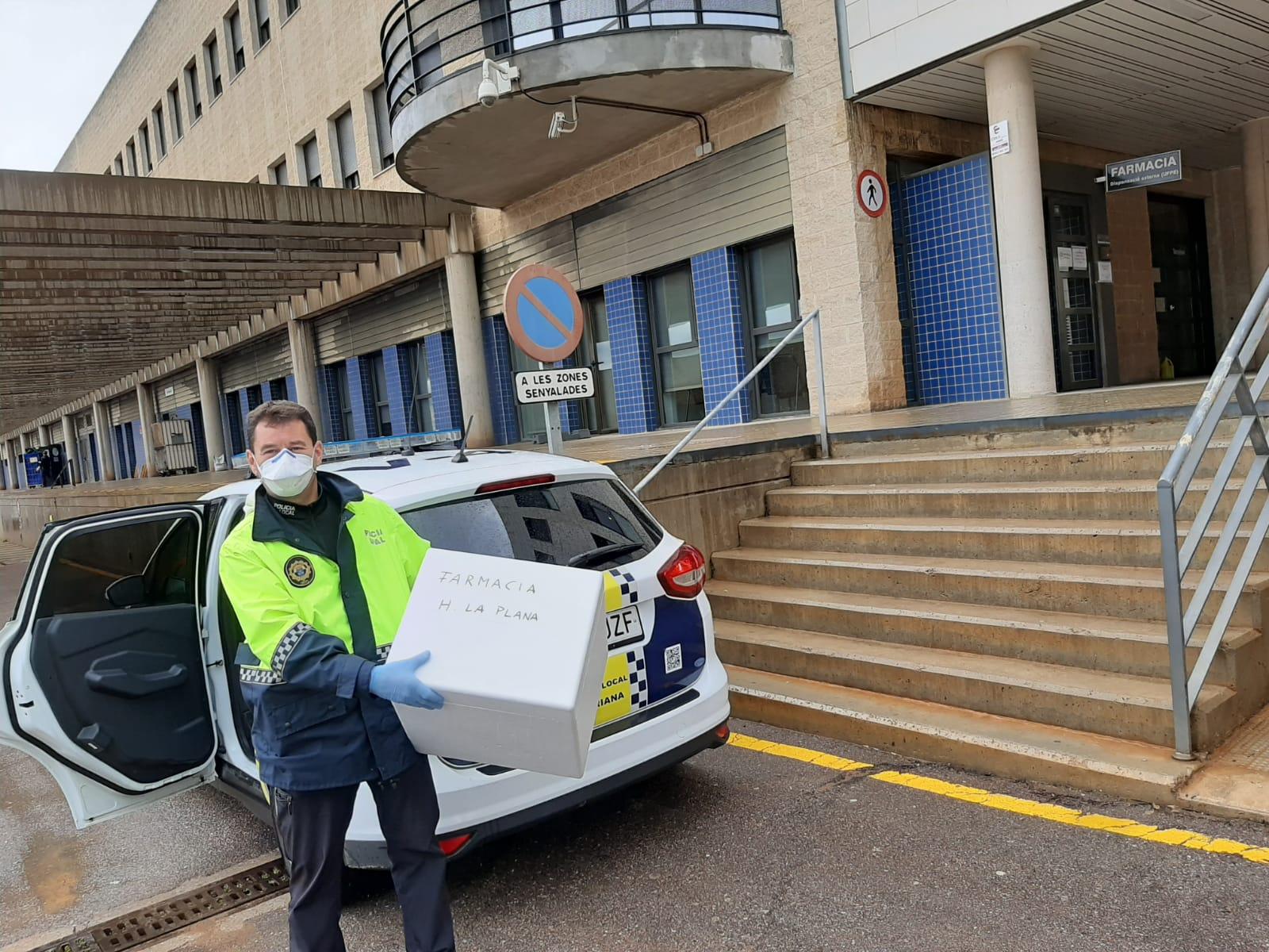 La Policía Local de Borriana tramita 349 denuncias por incumplimiento de las medidas de confinamiento