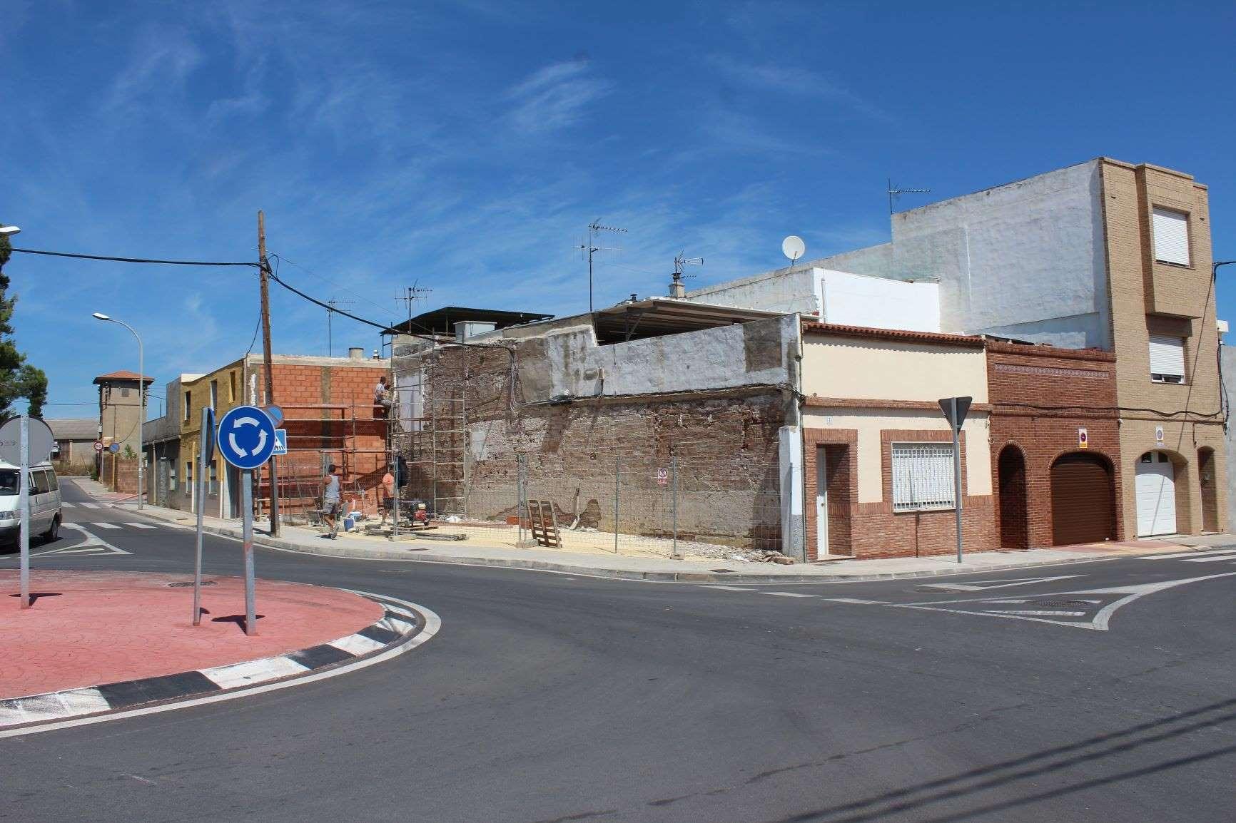 Territorio aumenta la seguridad peatonal y dignifica el cruce entre la calle Encarnación y el camino Vell Onda-Castelló de Vila-real