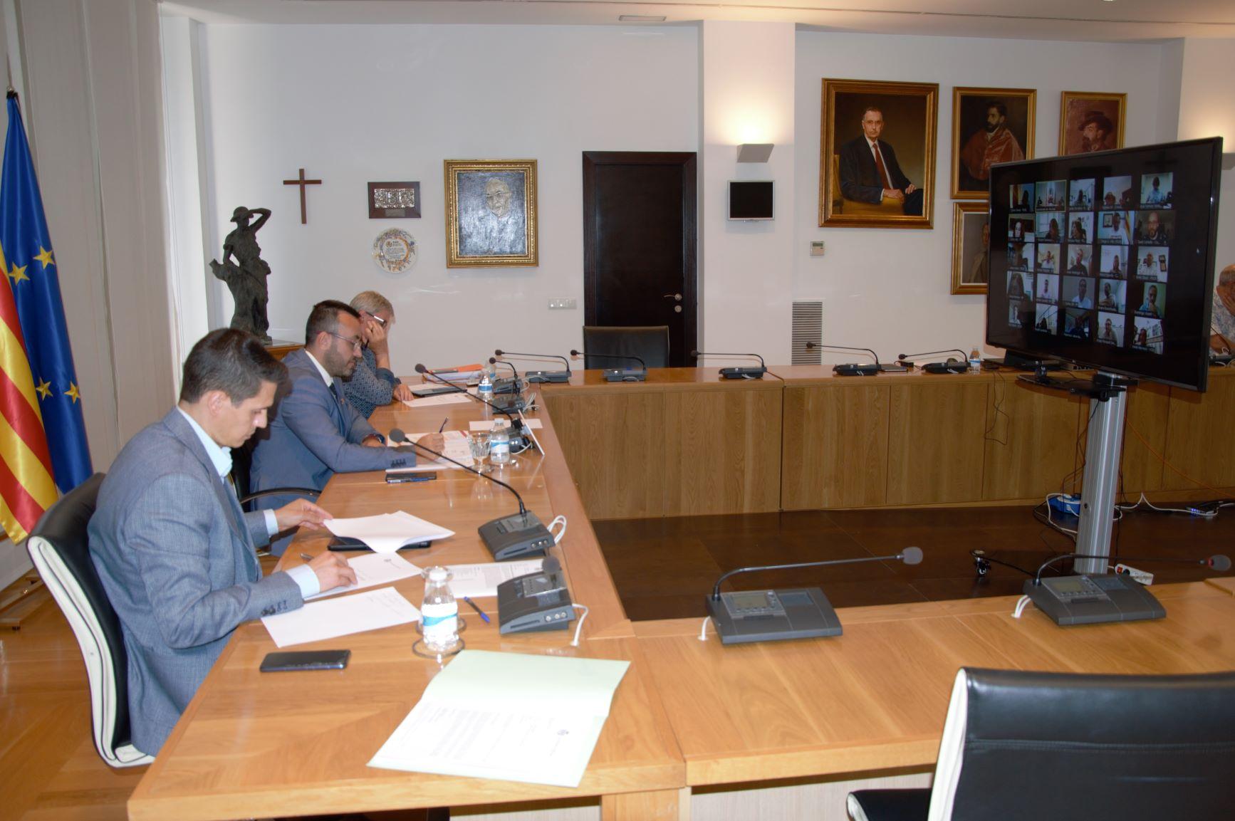 El Pleno aprueba por unanimidad destinar 500.000 euros para las acciones del Pacto local por el renacimiento de Vila-real