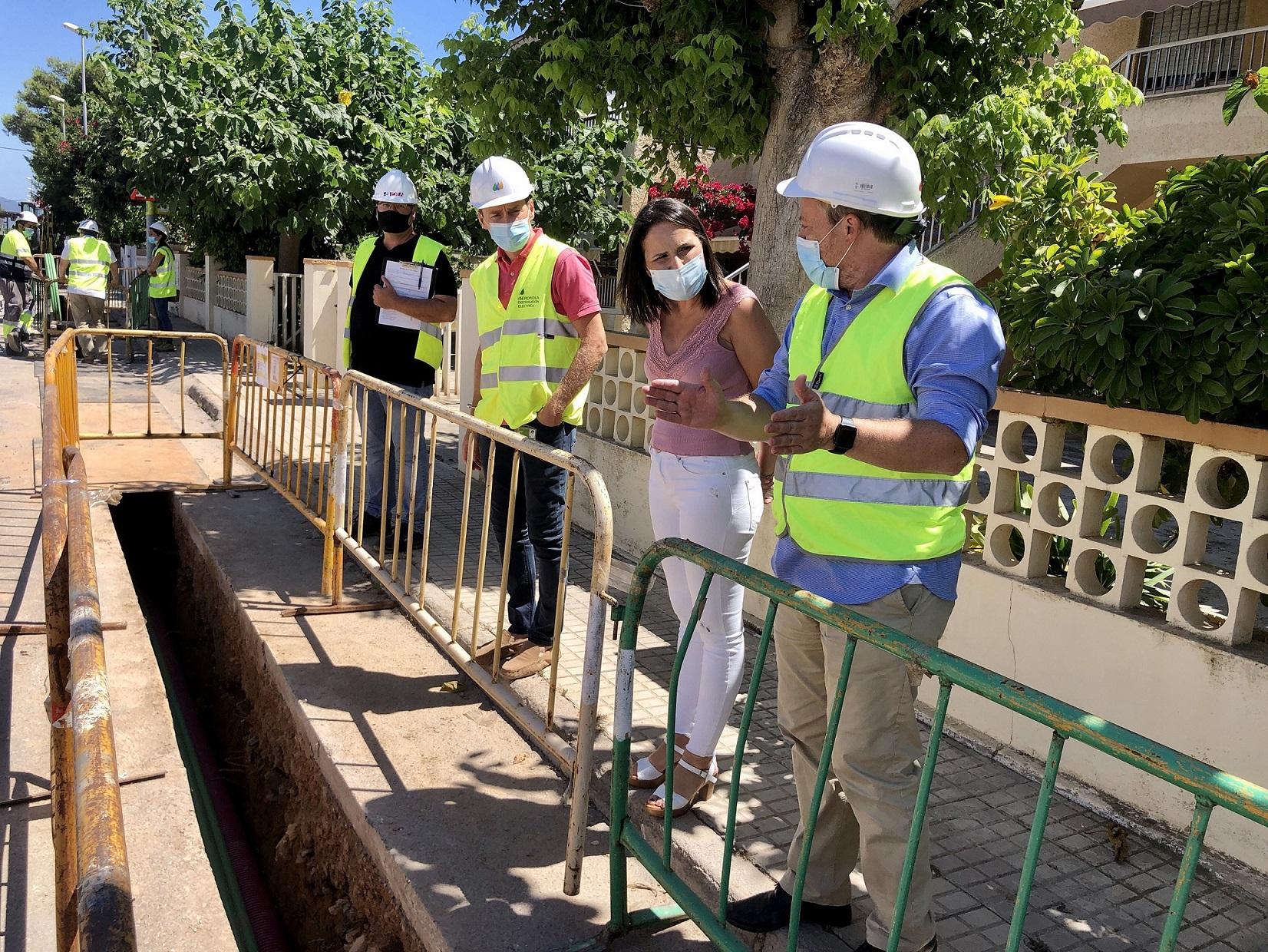 Iberdrola digitaliza la red en la playa de Almassora dentro de un plan de 2,3 millones de euros