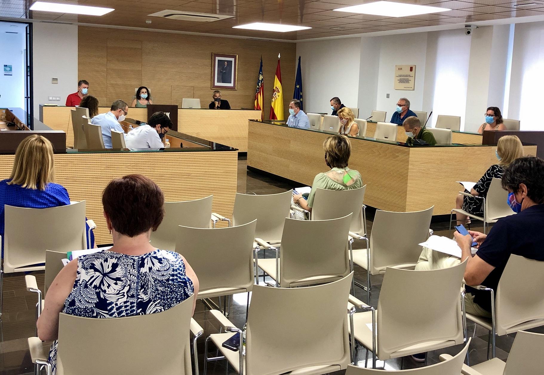Unanimidad en el pleno de Almassora para destinar 438.000 euros a obras y empleo