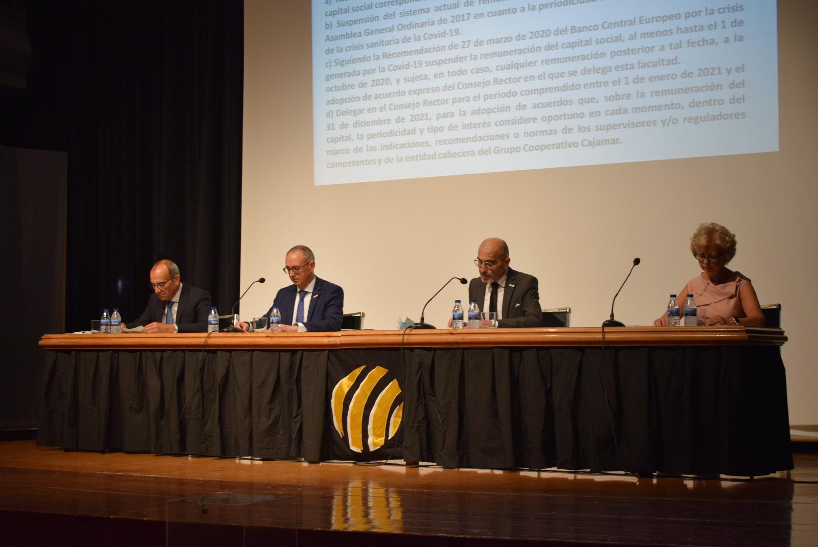 Los socios de Caixa Rural Vila-real aprueban las cuentas de la entidad