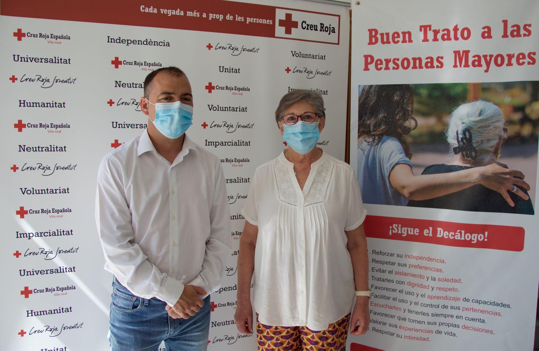 Vila-real se suma a la campaña de Cruz Roja 'Establecimiento Amigo de las Personas Mayores'