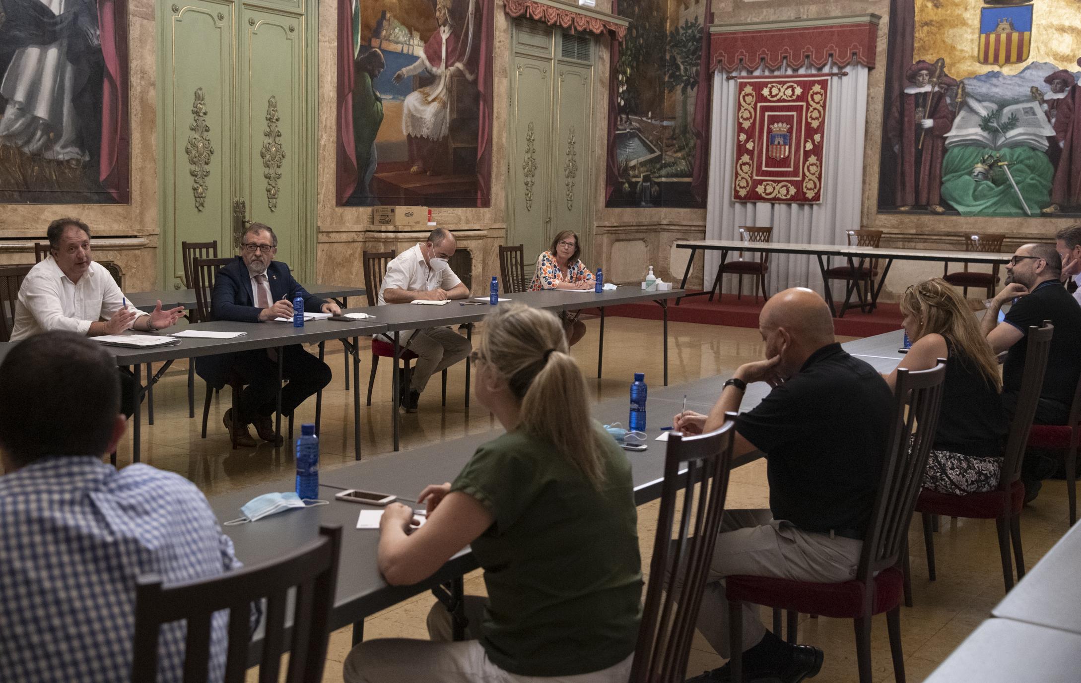 La Diputación de Castellón aprueba el plan de incorporación de los empleados públicos con cuatro días presenciales y uno de teletrabajo