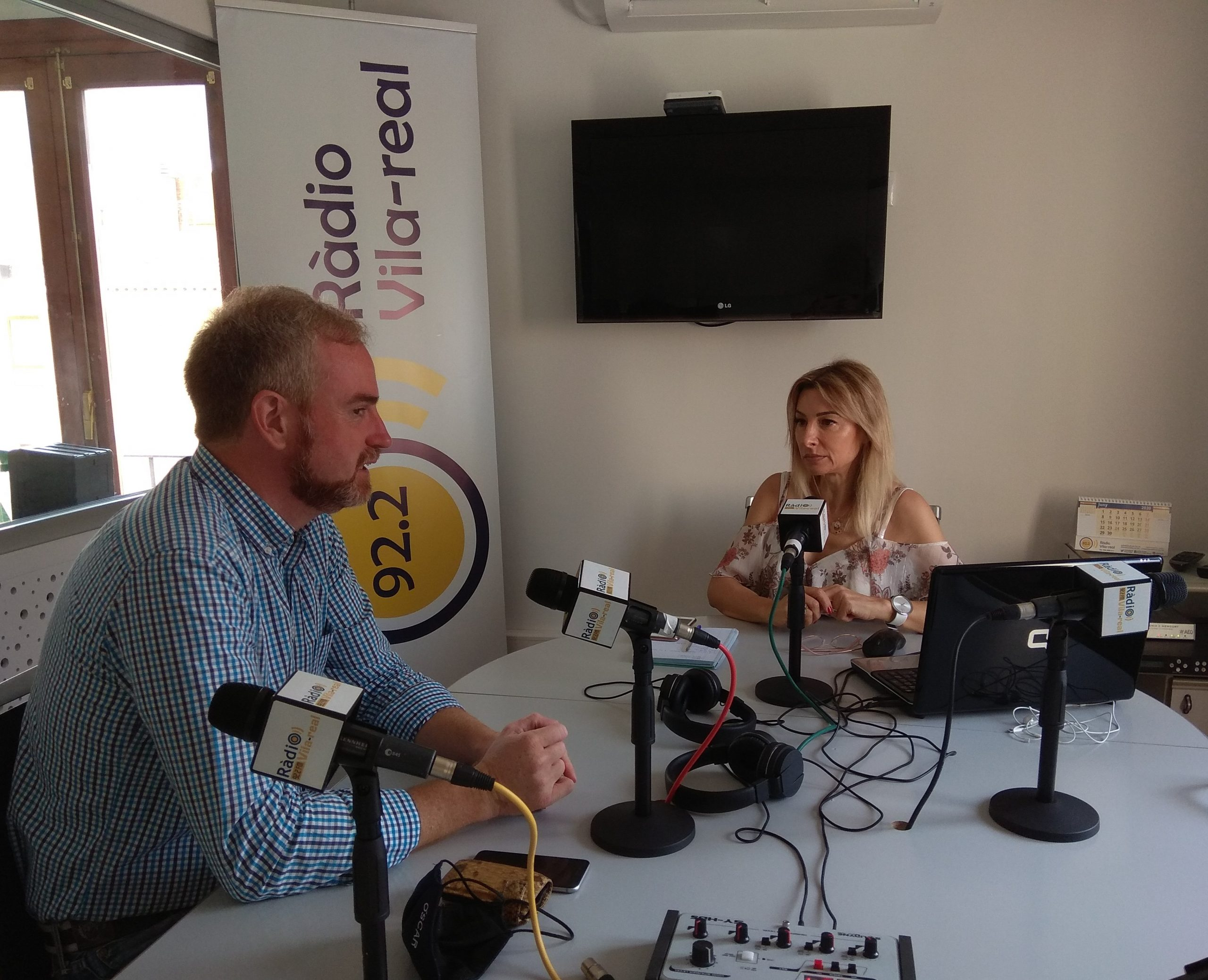 Entrevista al presidente del PP en la Vall d'Uixó, Óscar Clavell