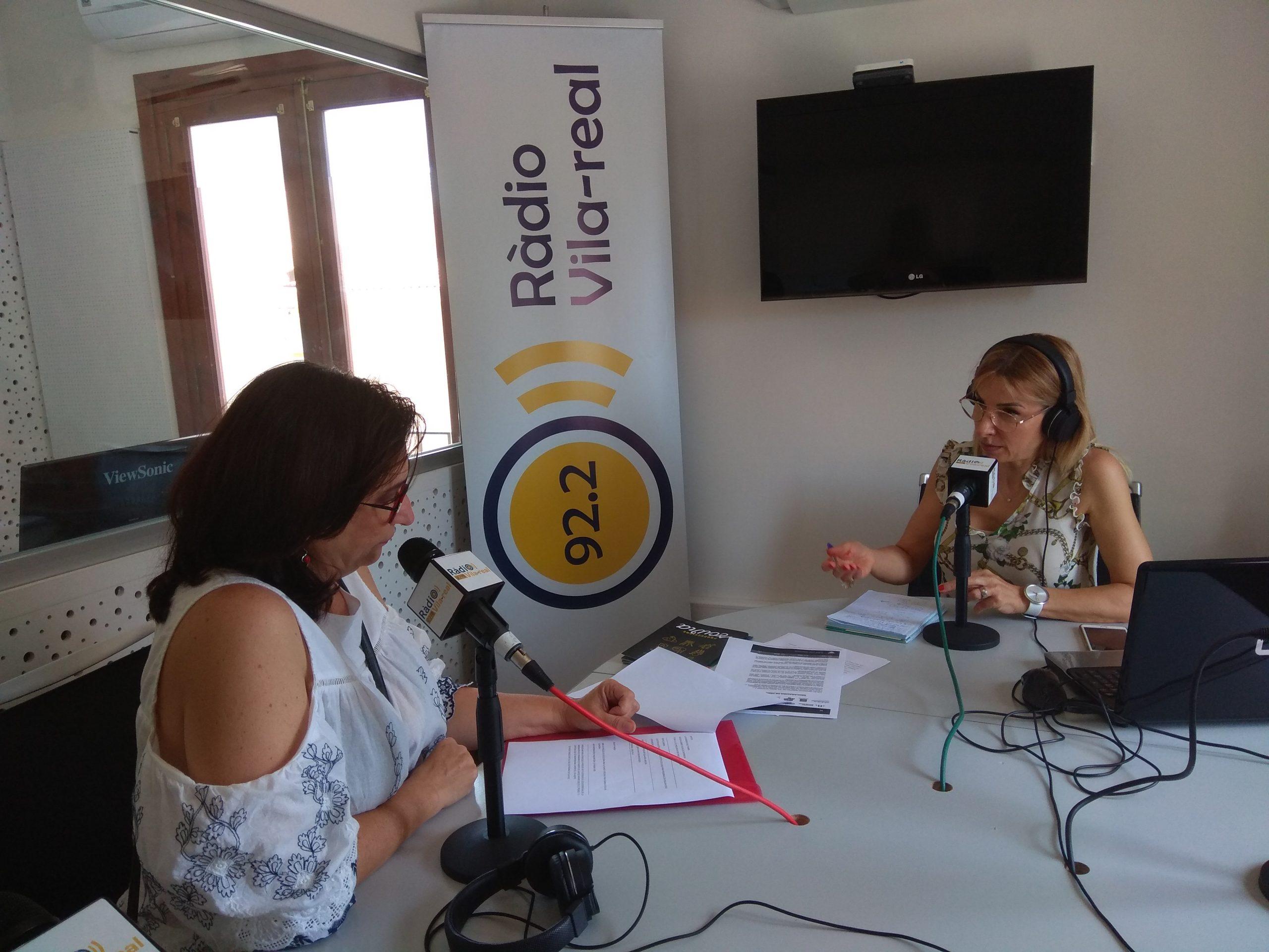 ¿Buscas empleo? Encuéntralo en Radio Vila-real con la presidenta de ADAVI, Inma Cerdà