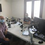 Entrevista al director EOI Plana Baixa, Joan Ramón Monferrer, y el jefe de estudios, Saúl Ramos