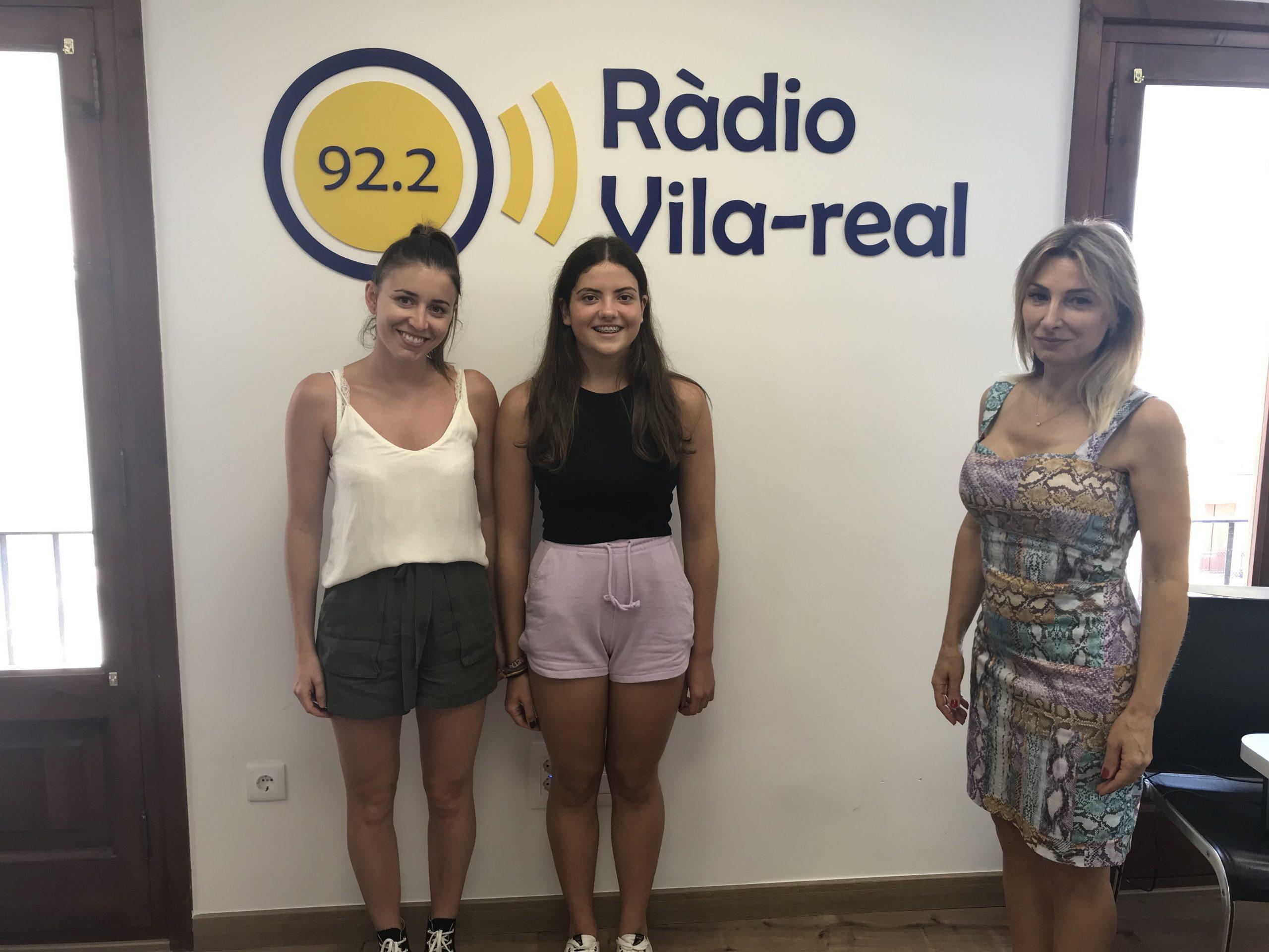 Entrevista al club de natación sincronización ALIA Vila-real