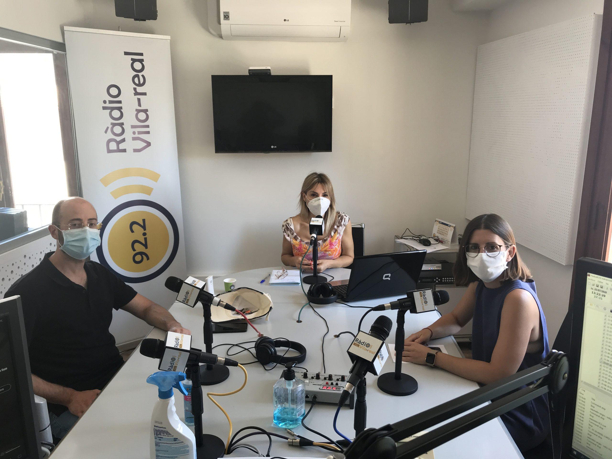 Entrevista a la concejala de Tradiciones de Vila-real, Noelia Samblás, y el presidente de la Unió Musical La Lira, Juanjo Peláez