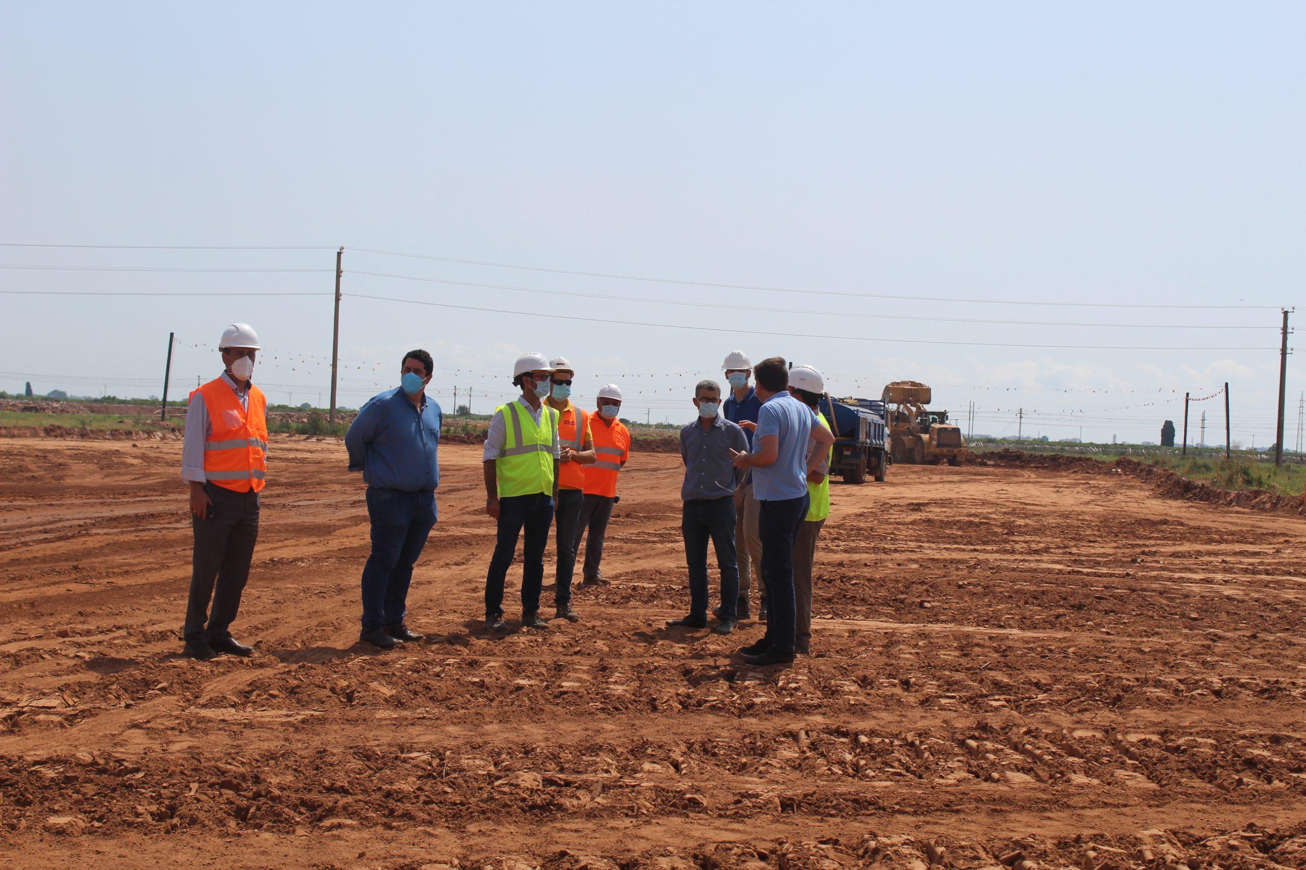 Nules reanuda las obras de urbanización del sector 5