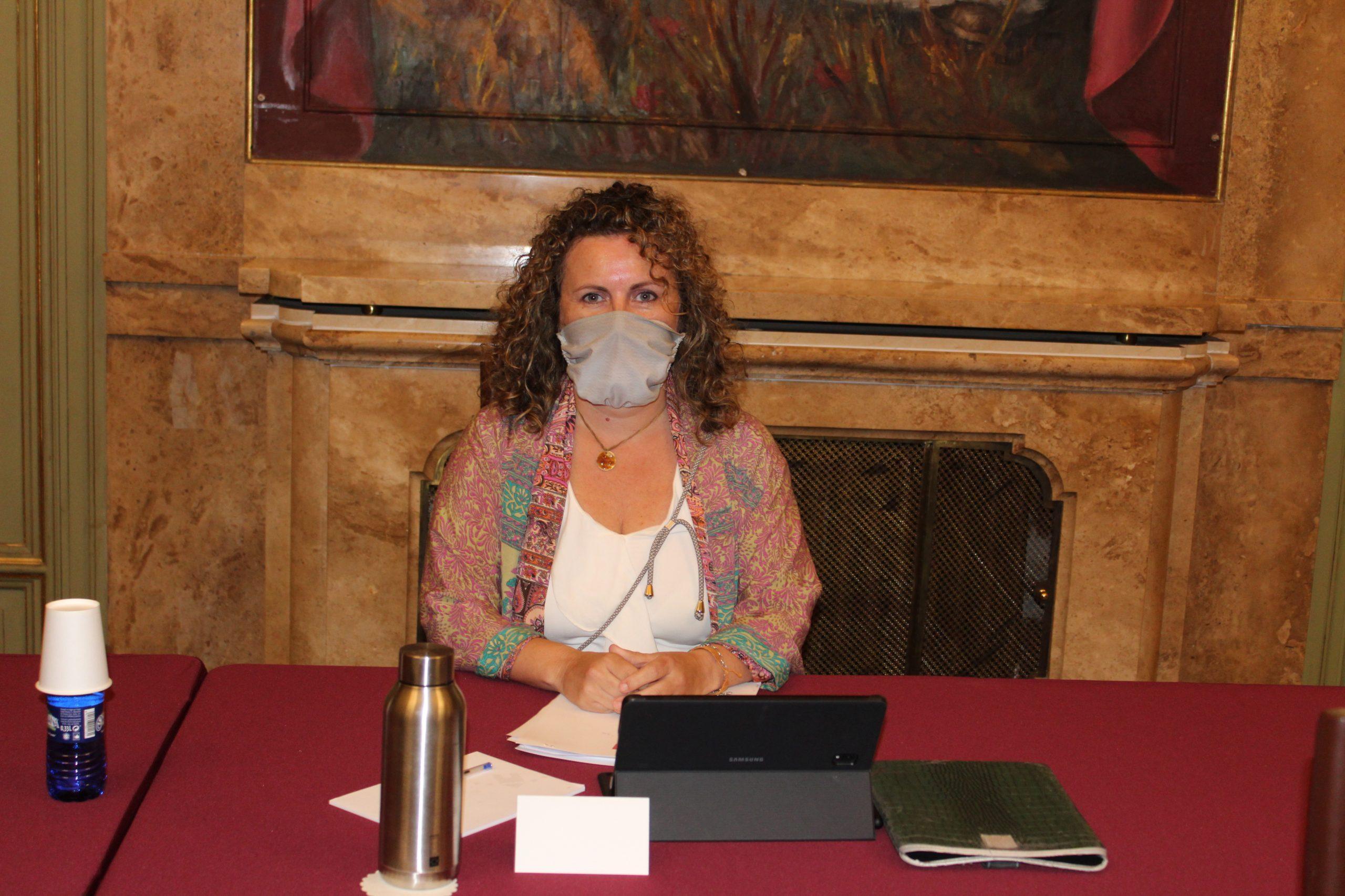 Entrevista la diputada provincial y vicealcaldesa de Benicássim, Cristina Fernández