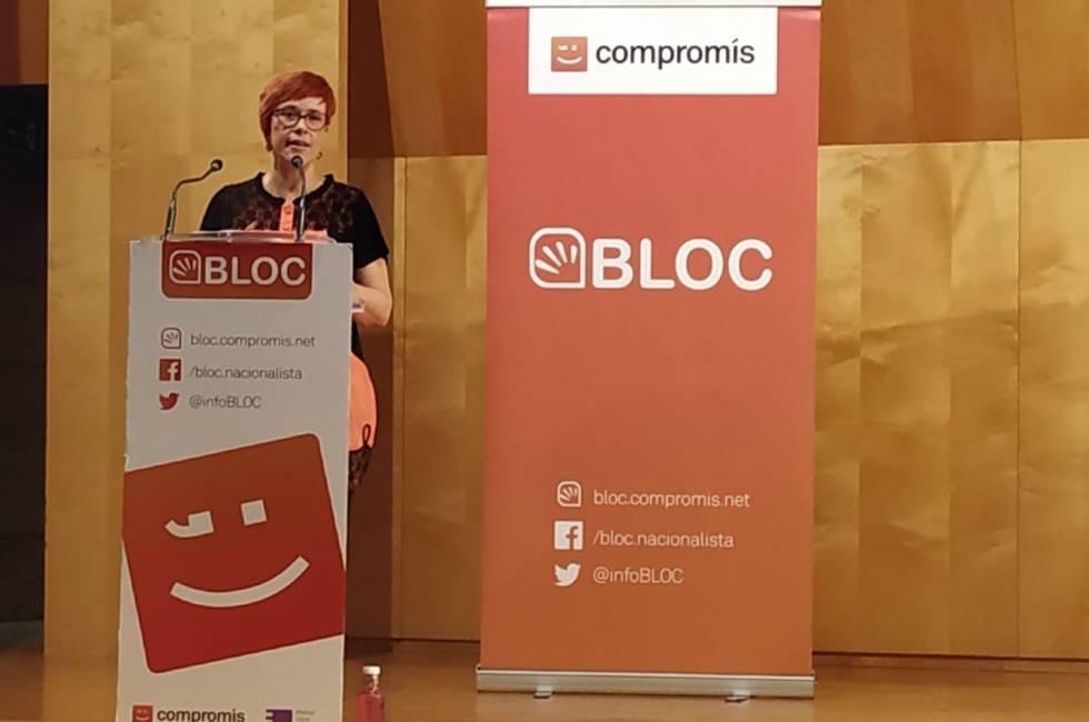 Entrevista a la coordinadora general del Bloc, Àgueda Micó