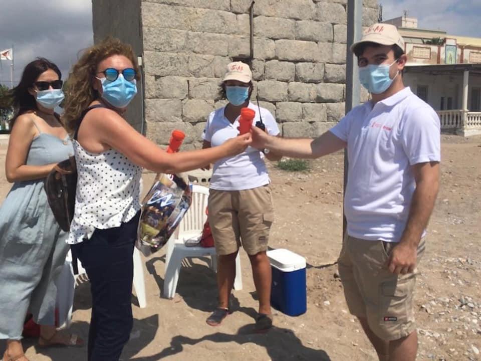 Entrevista a la concejala de Playas, Mª José Esteban