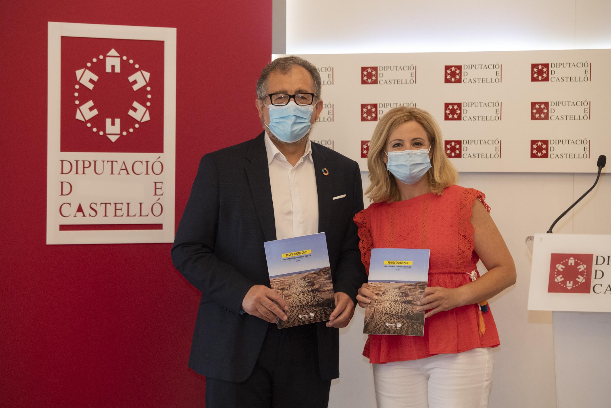 La Diputación diseña un plan de choque de 2,8 millones de euros para reactivar el turismo en Castellón con el ojo puesto en el viajero nacional