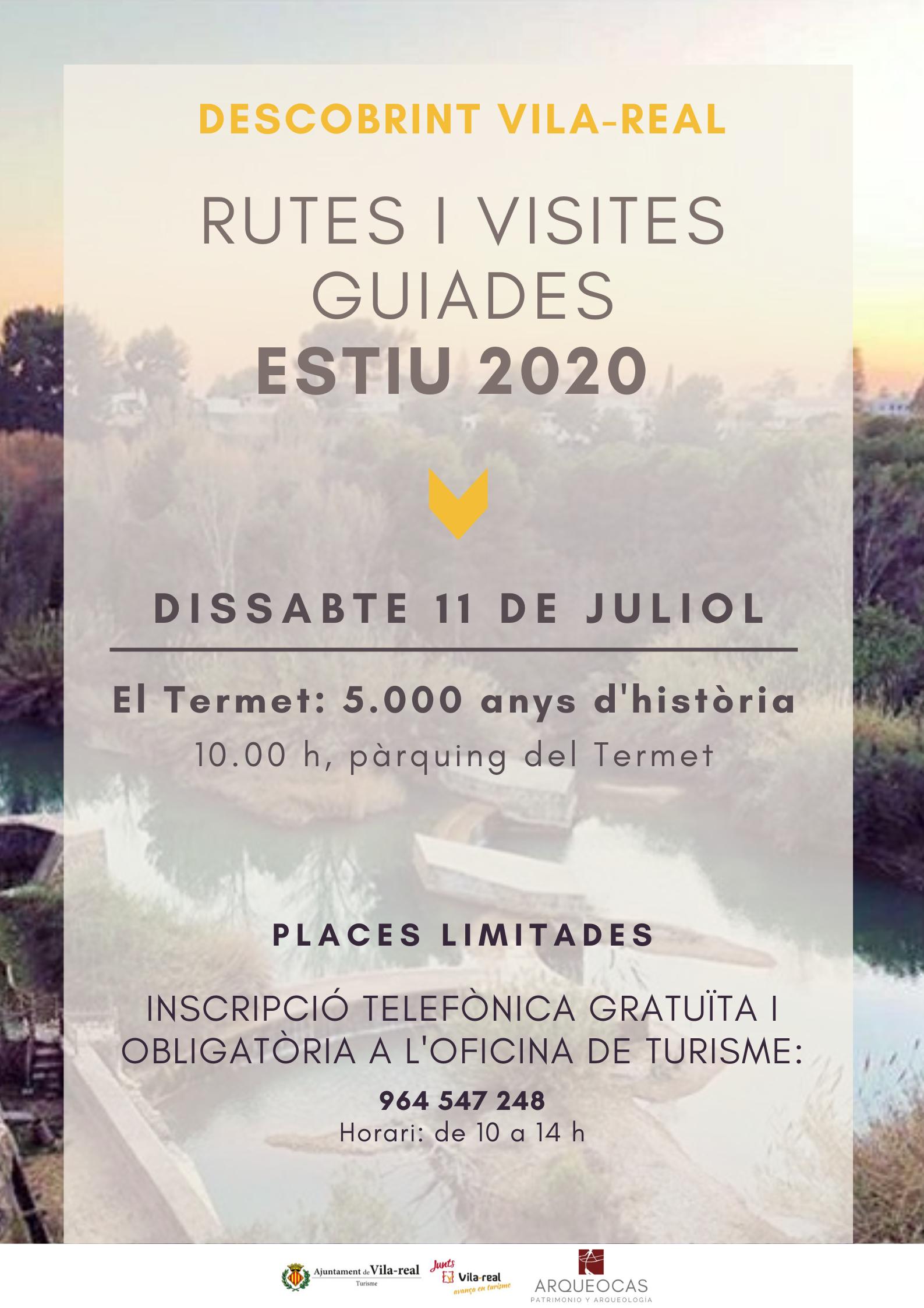 Vila-real retoma este fin de semana las visitas guiadas gratuitas con un recorrido por el Termet y sus 5.000 años de historia