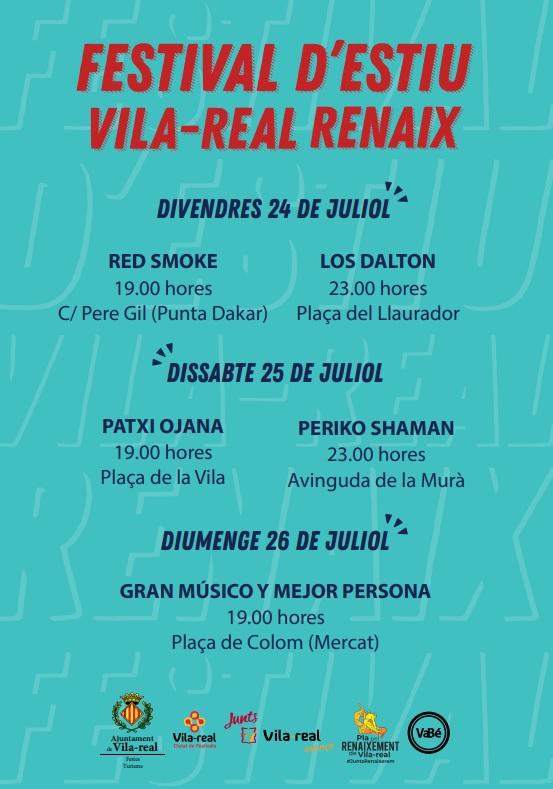 El festival Vila-real Renaix continúa este fin de semana  apostando por grupos locales y nuevos géneros musicales