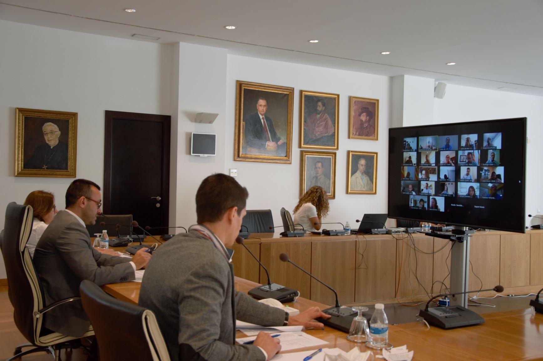 El Pleno aprueba una declaración institucional para apoyar a los agricultores en la lucha contra la plaga del 'cotonet'