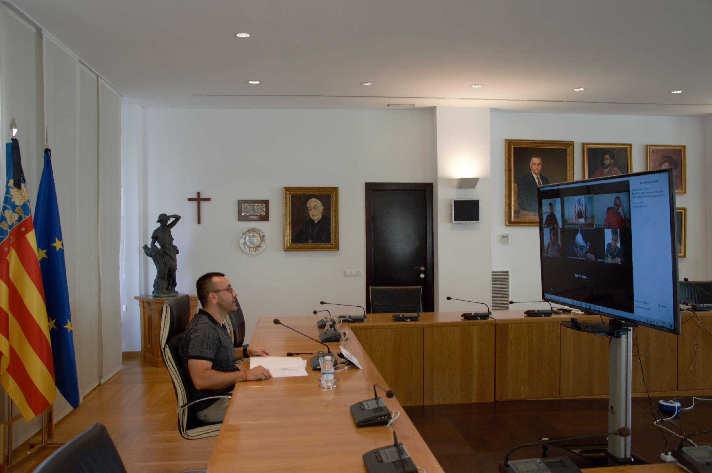 Escucha la rueda de prensa al completo del alcalde de Vila-real, José Benlloch (31-07-2020)