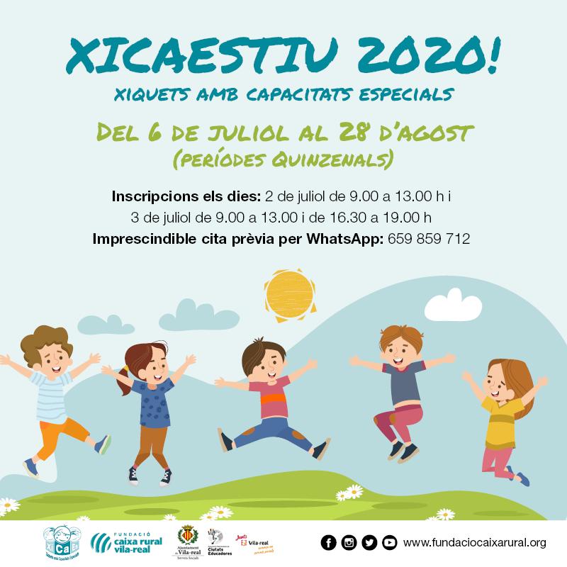 XiCaEs realizará actividades para niños con capacidades diferentes este verano
