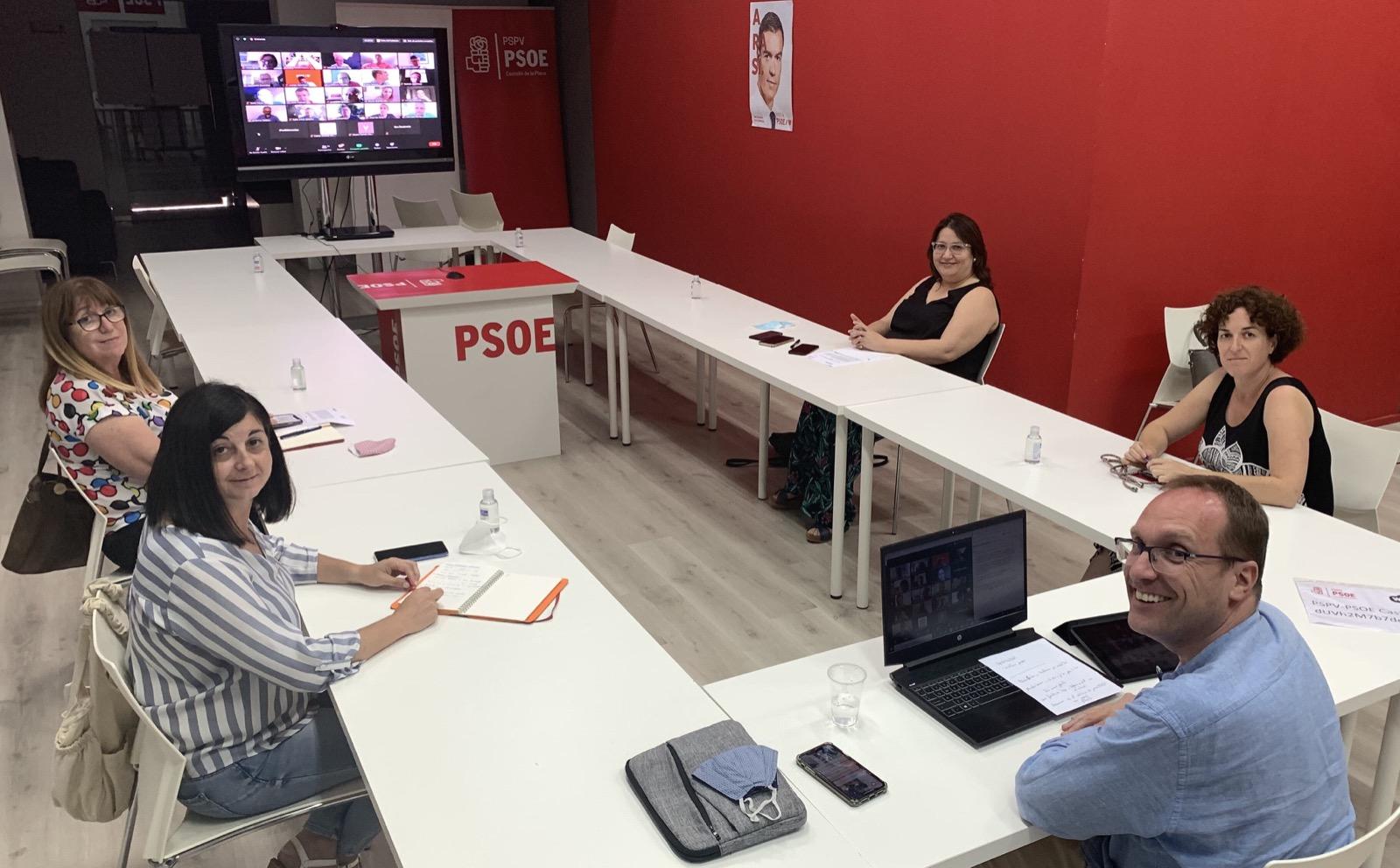 El PSPV-PSOE de la provincia de Castelló aprueba una resolución para incentivar la participación de los jóvenes en el partido e instituciones