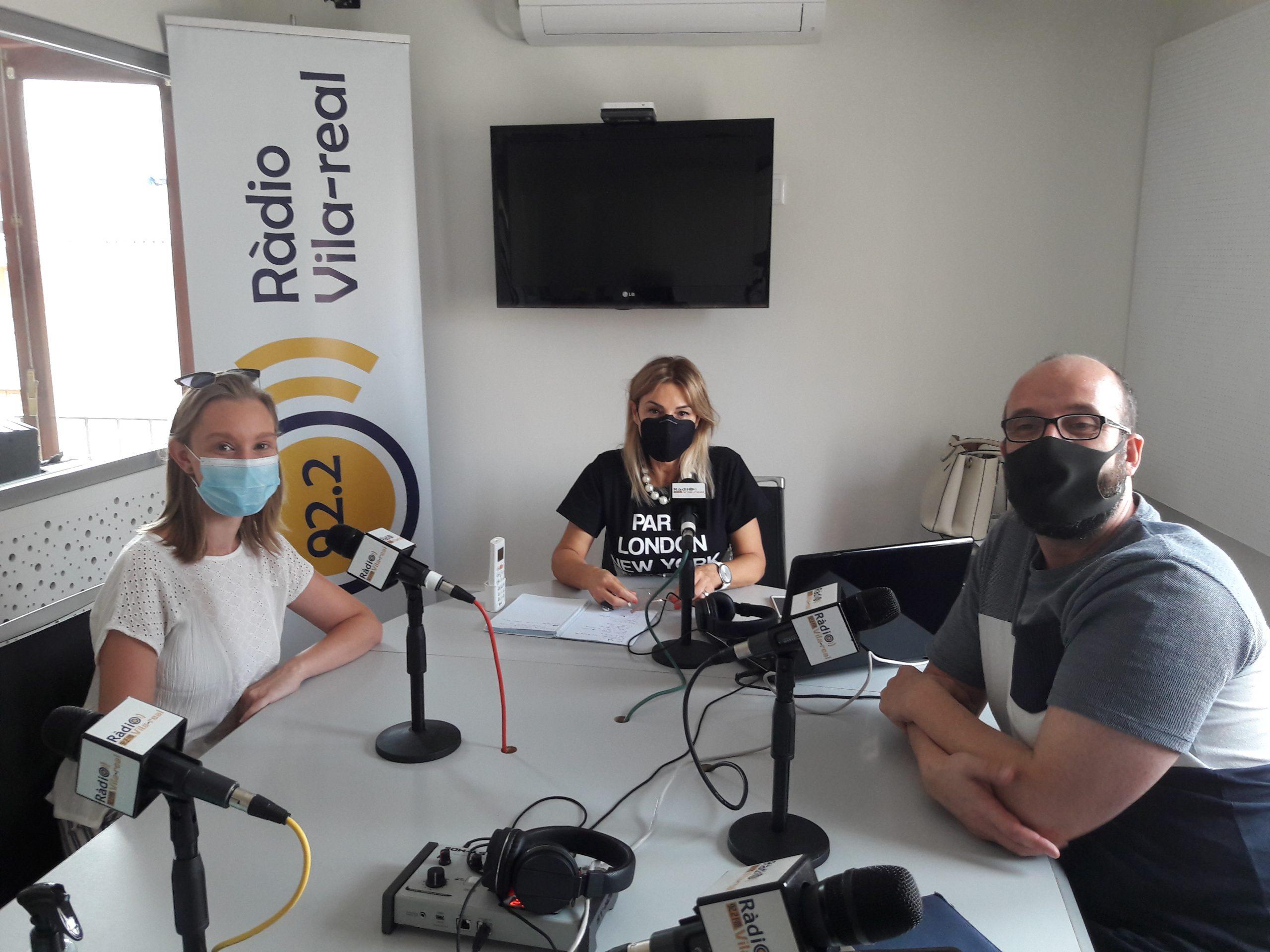 Entrevista a los concejales Compromís per Vila-real, María Fajardo y Santi Cortells