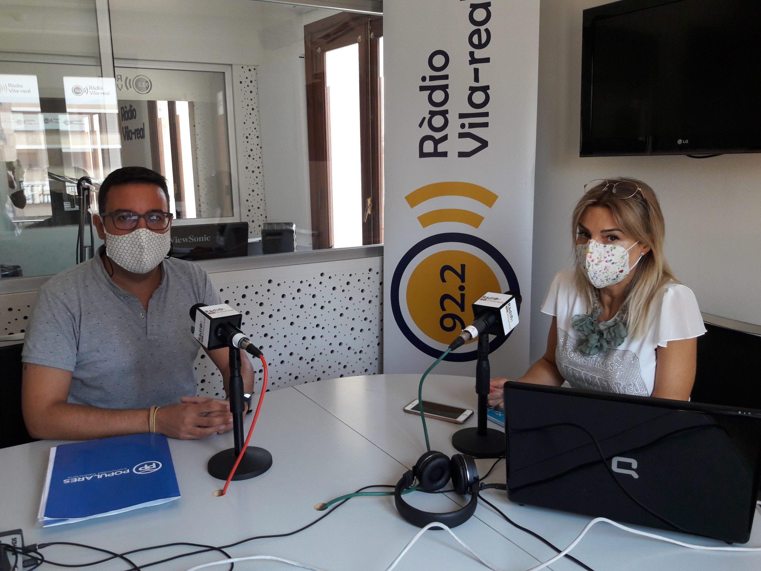 Entrevista al concejal del PP de Vila-real, Adrián Casabó