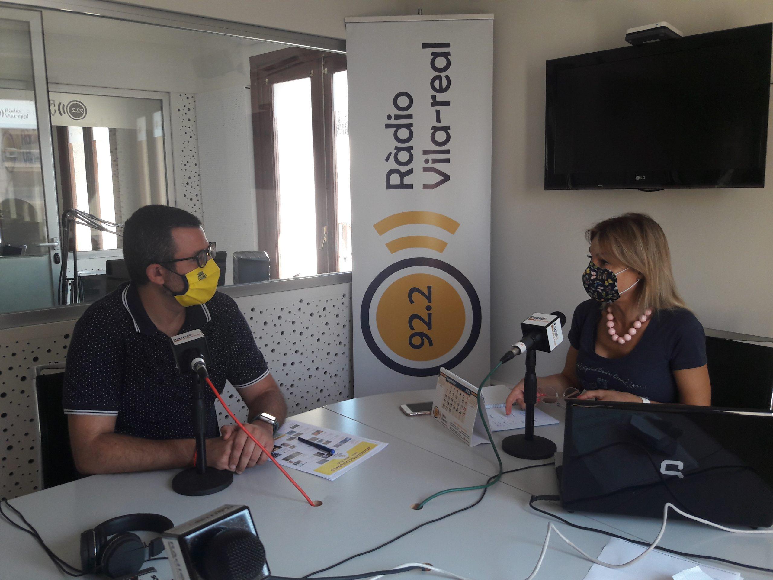 Entrevista al concejal de Fiestas y Turisme de Vila-real, Diego Vila