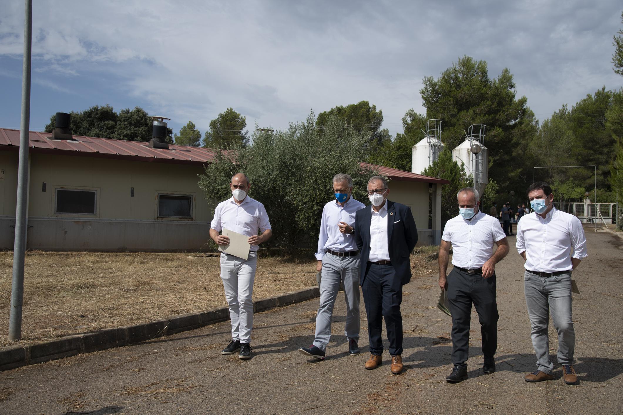 La Diputación de Castellón apoyará con 80.000 a la Unió para que la producción agrícola y ganadera provincial sea más sostenible y rentable