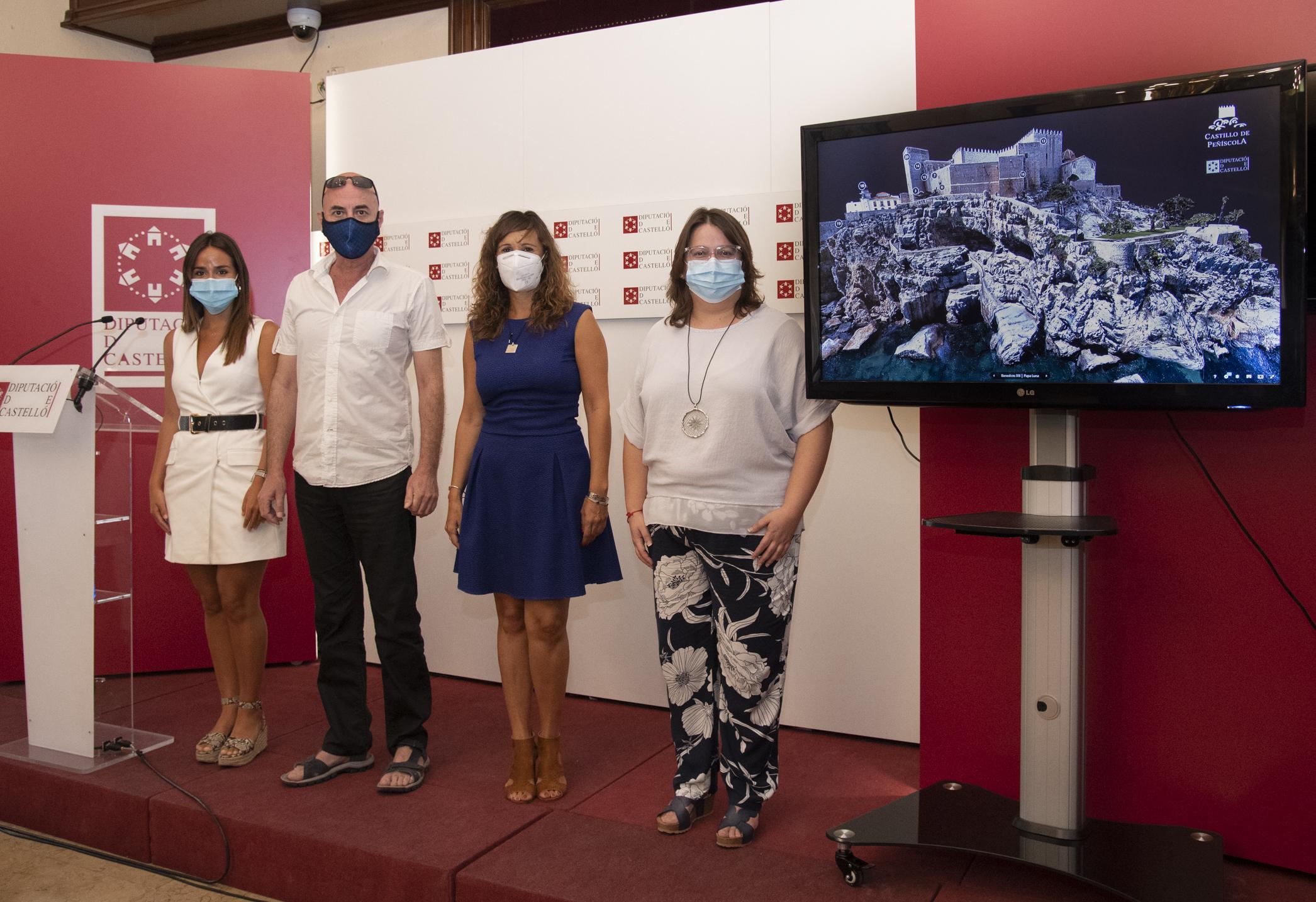 Sanz destaca la apuesta por la cultura segura que realiza la Diputación durante el verano de la Covid