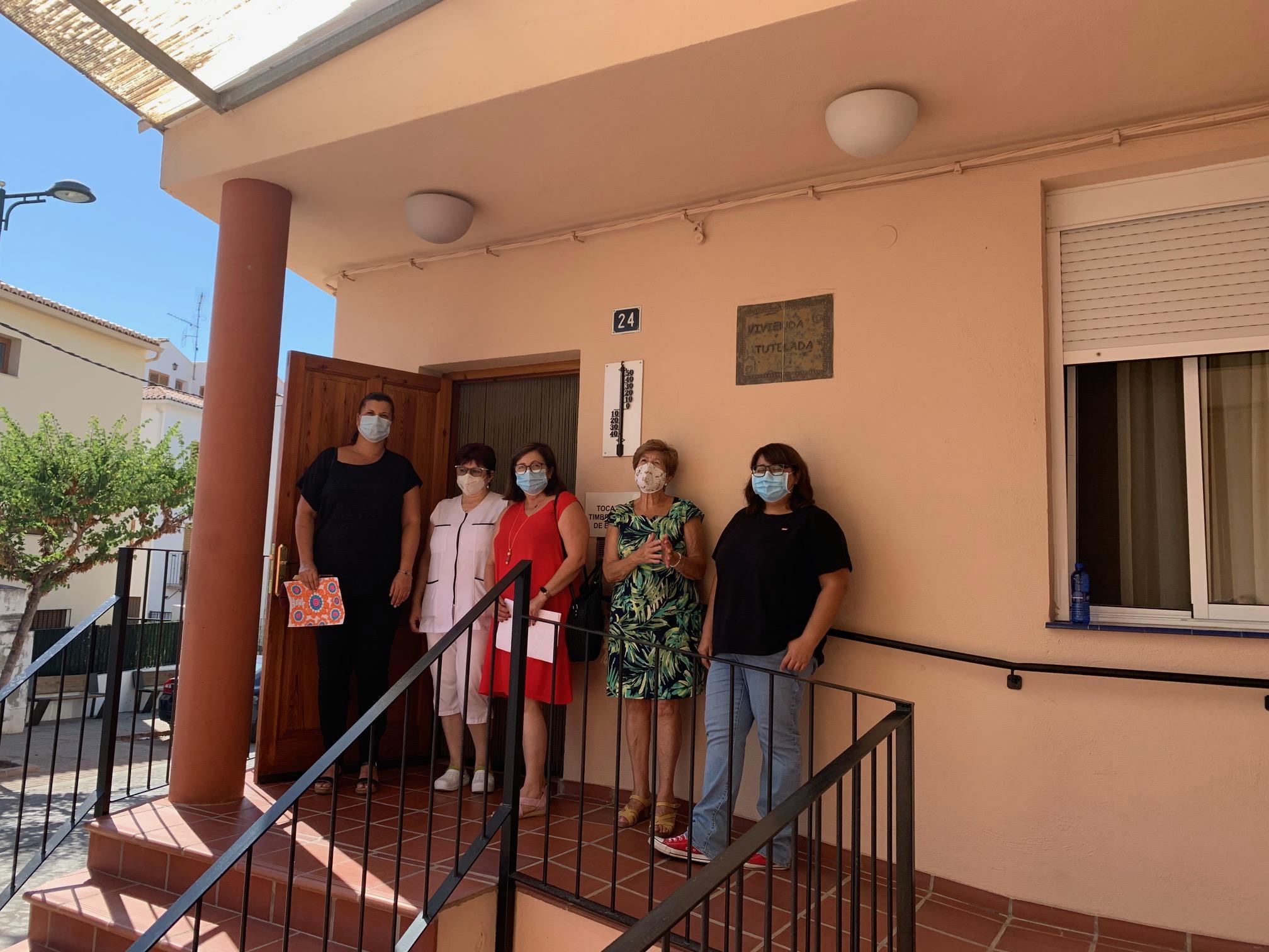 Puerta destaca que la Diputación de Castellón garantiza los desplazamientos de índole sanitaria de las personas que residen en Viver
