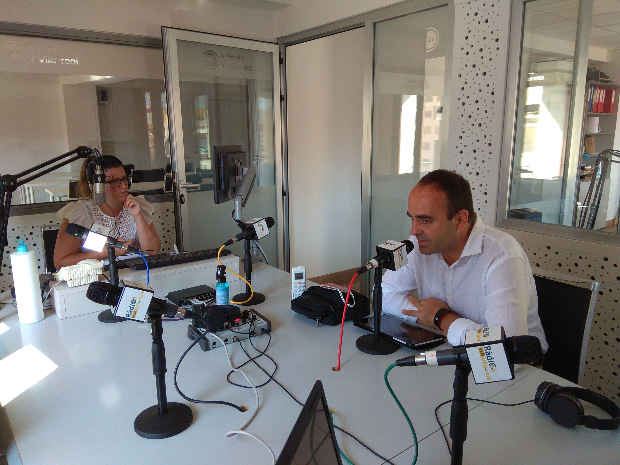 Entrevista al portavoz de Cs de Vila-real, Domingo Vicent