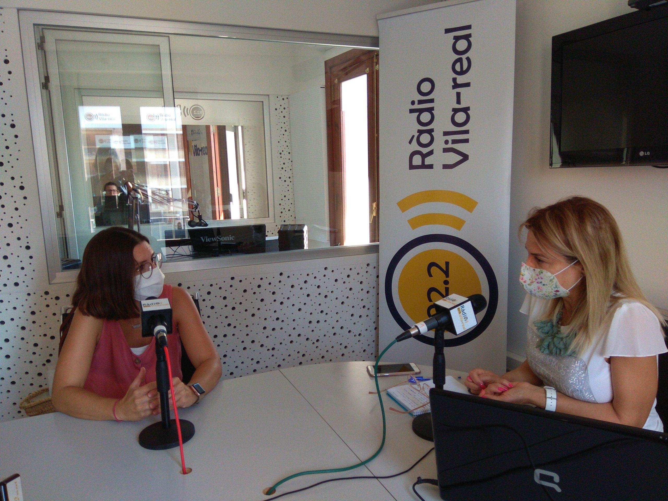 Entrevista a la concejala de Relaciones Institucionales de Vila-real, Noelia Samblás