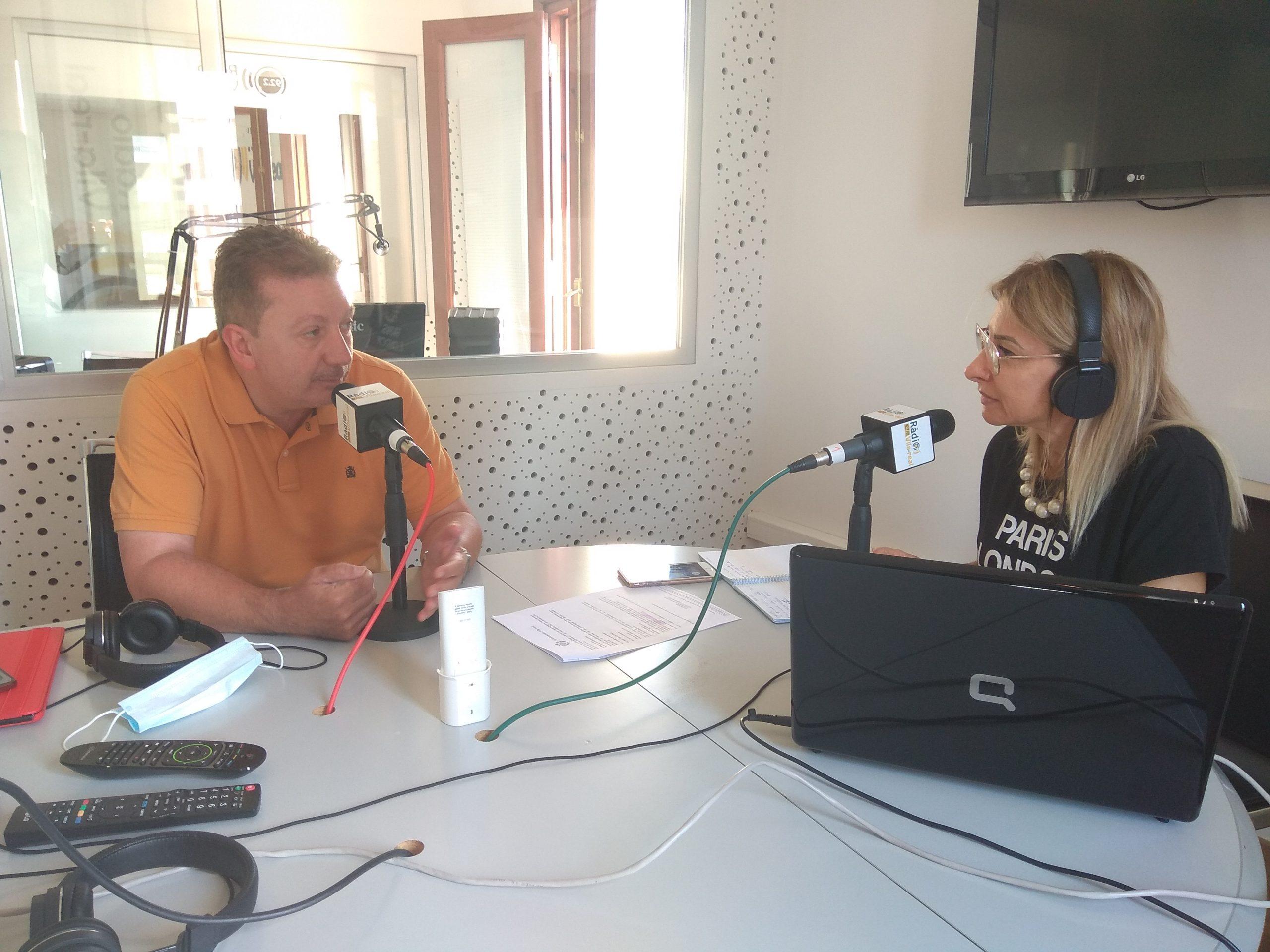 Entrevista al concejal de Deportes de Vila-real, Javier Serralvo