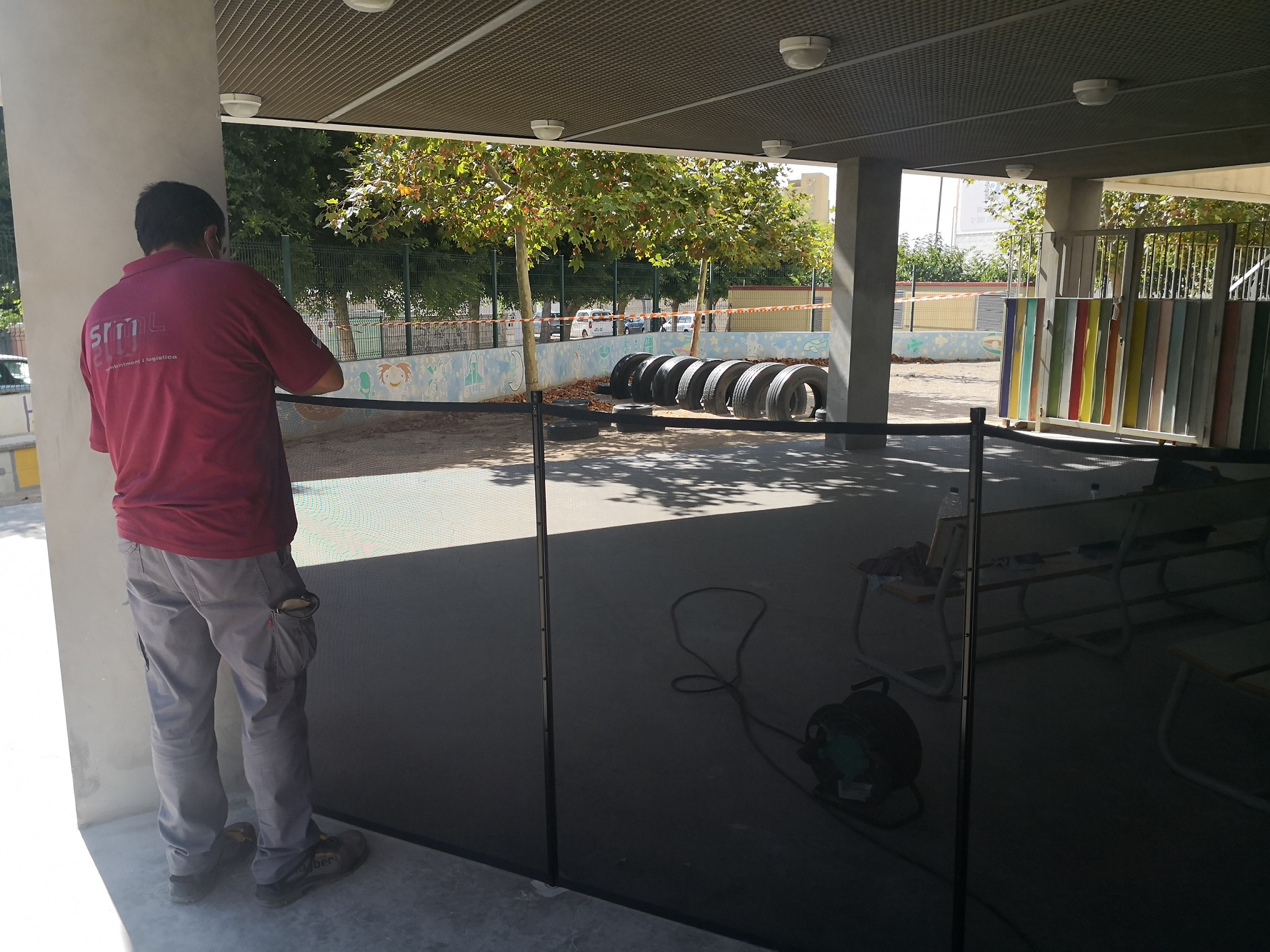Almassora prepara sus colegios para el inicio del próximo curso académico