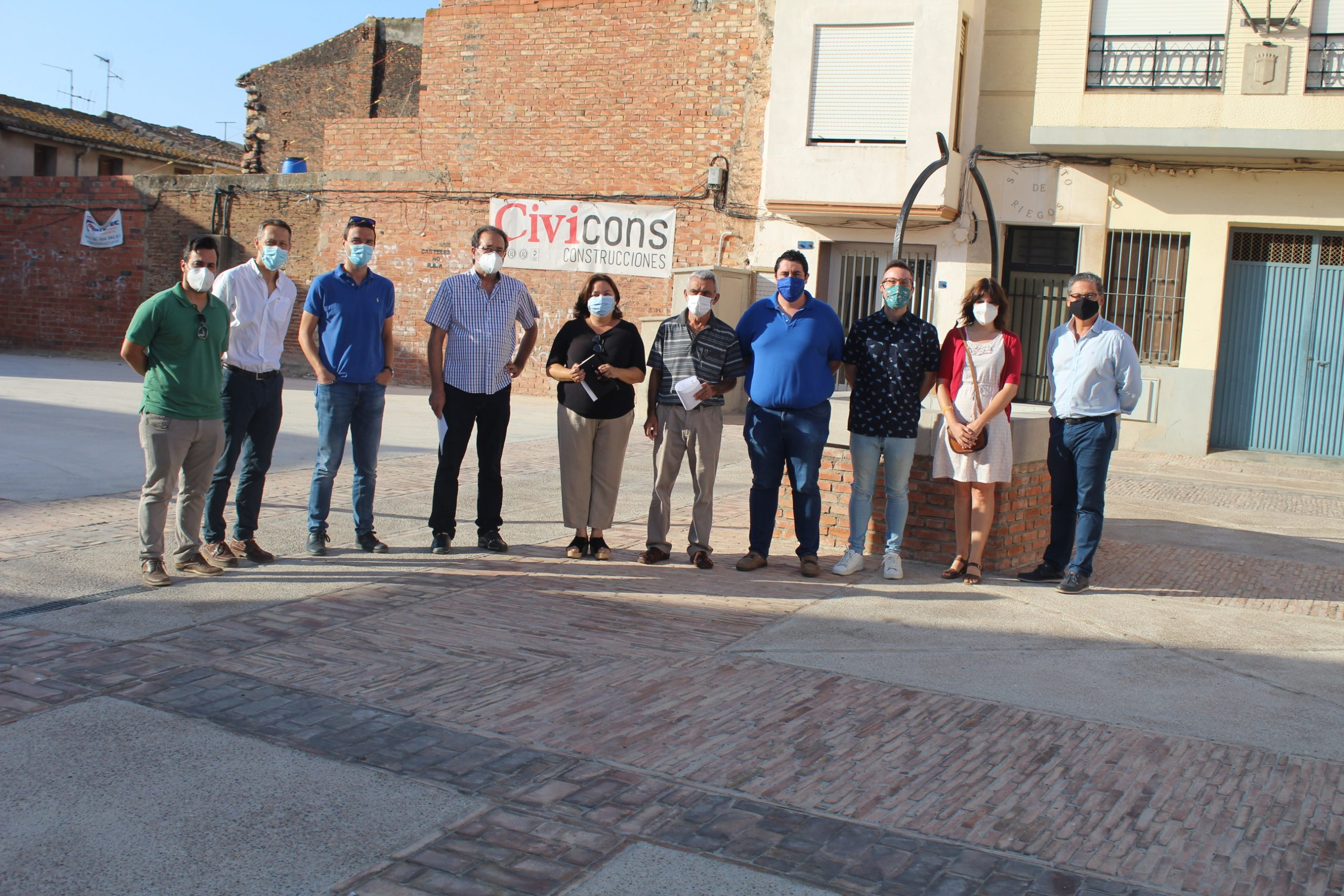 Mascarell presenta una nueva imagen tras la pavimentación de sus calles