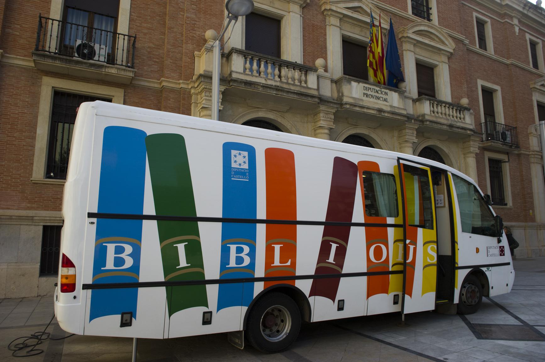 Martí anuncia que el Bibliobús de la Diputación retoma la actividad desde este lunes