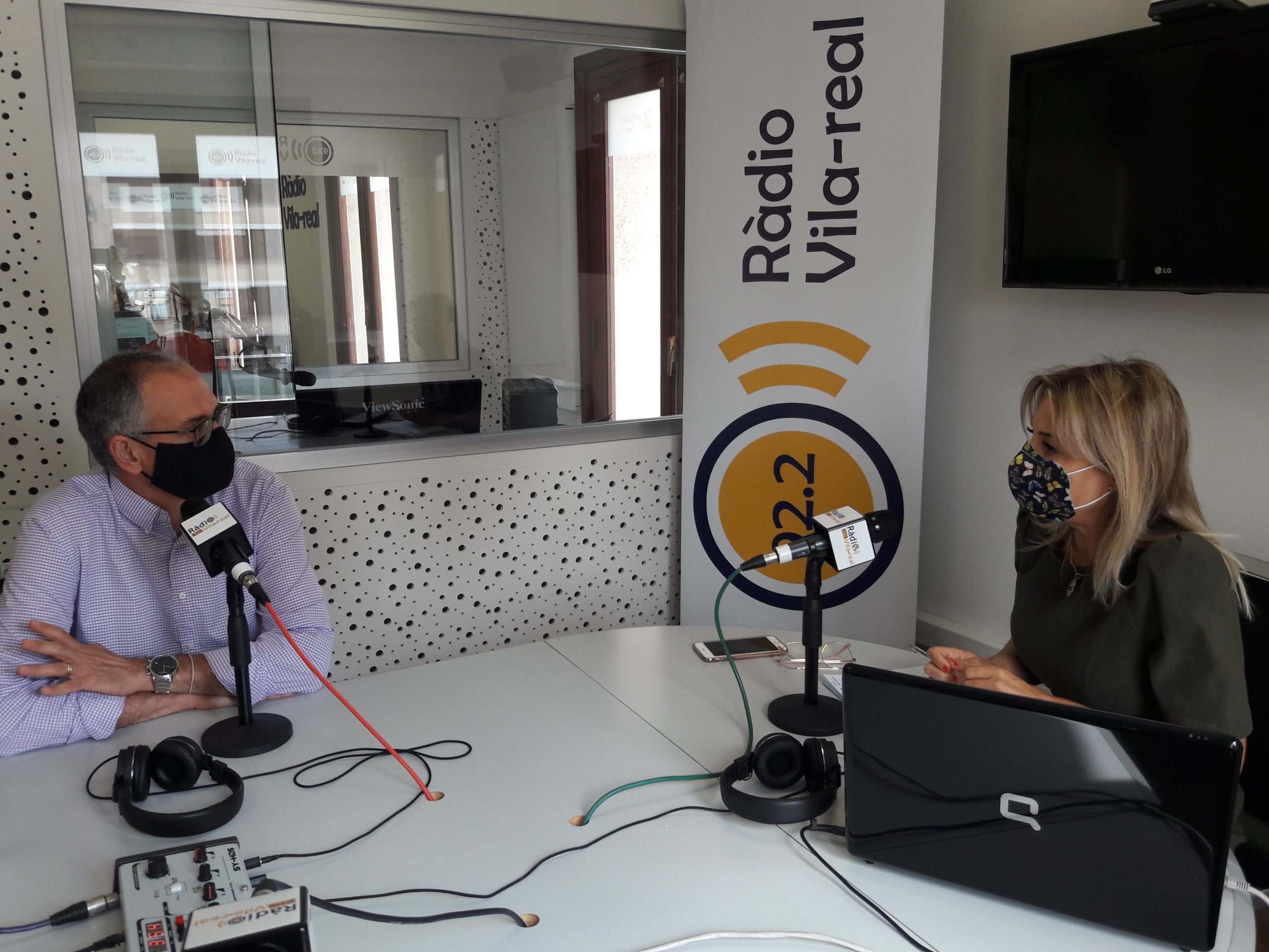 Entrevista al director general de Caixa Rural de Vila-real, Manolo Cubertorer