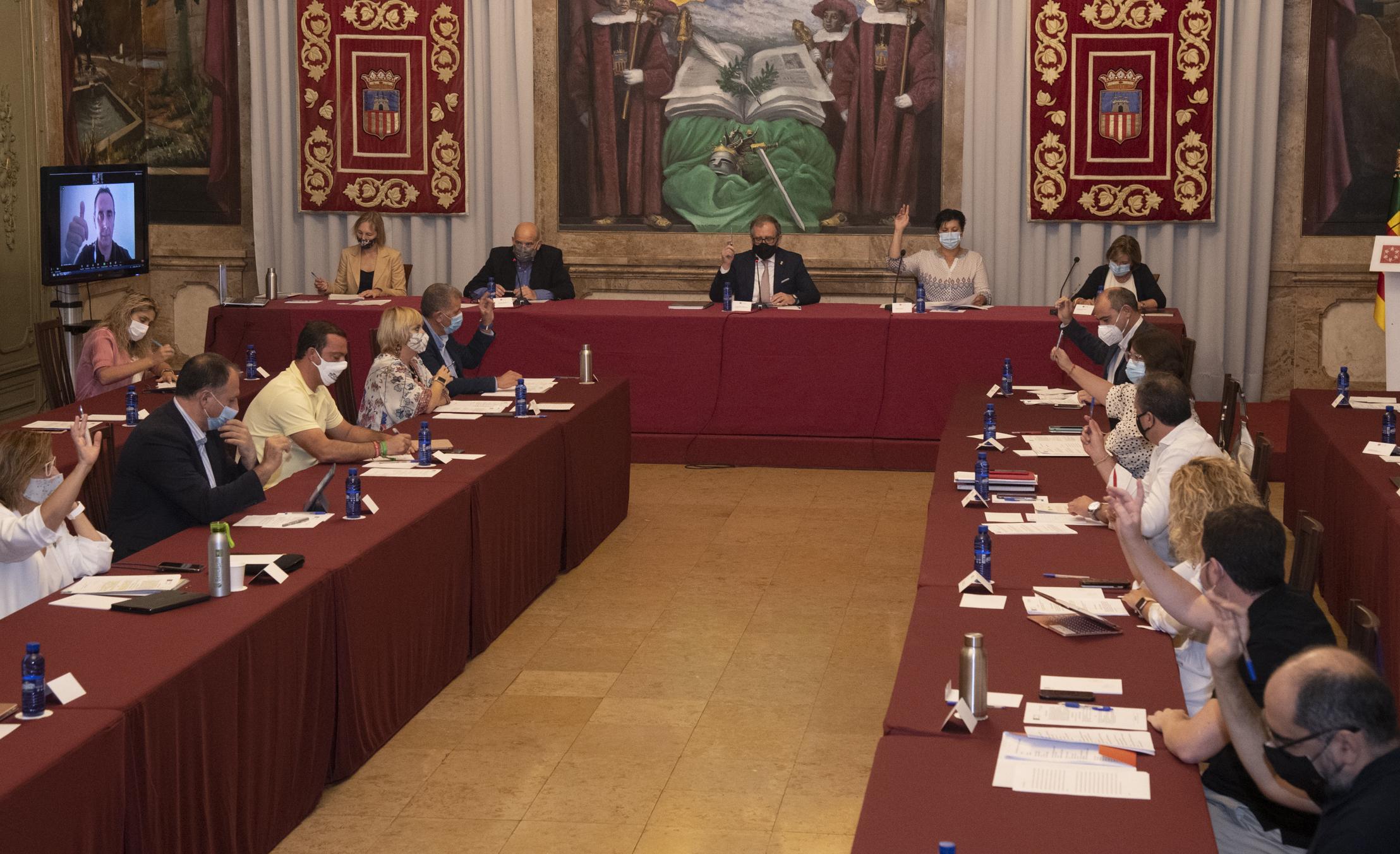 La Diputación aprobará el martes en pleno una propuesta del equipo de gobierno para instar al desbloqueo en la renovación de órganos constitucionales