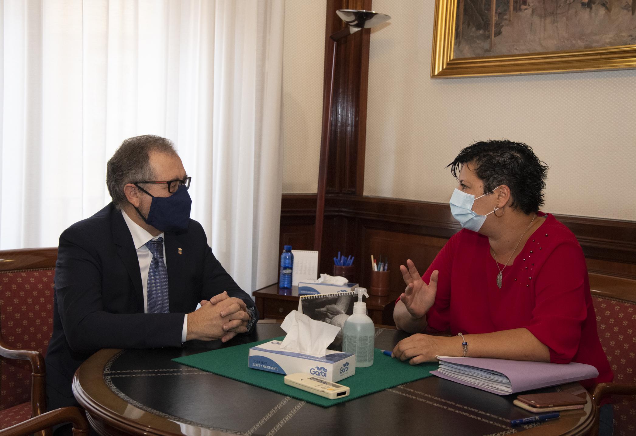 """Martí pide a la oposición """"responsabilidad y unidad"""" para consensuar unos presupuestos para 2021"""