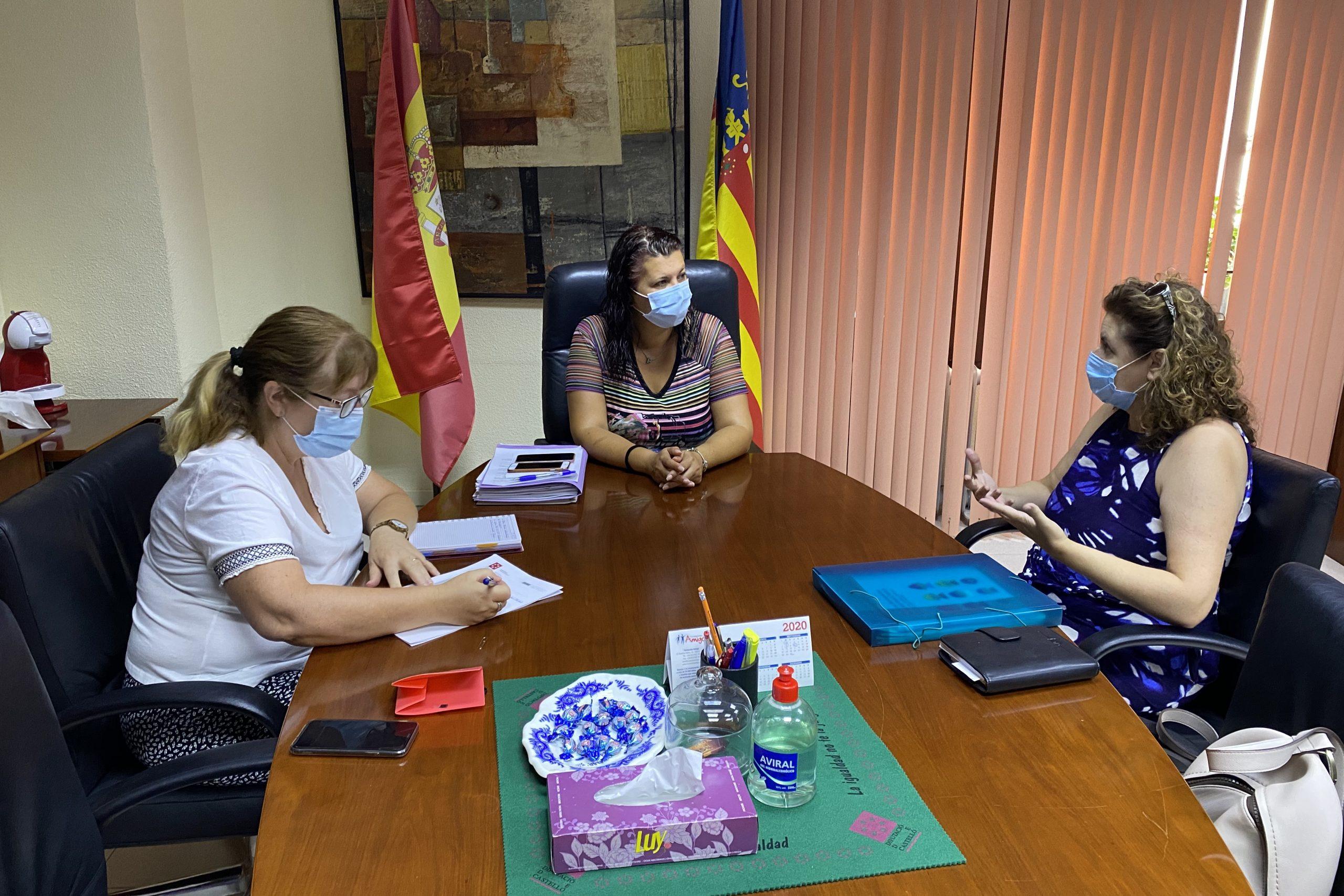 Puerta apoya la constitución de una asociación en Castellón sobre el Trastorno del Espectro Alcohólico Fetal