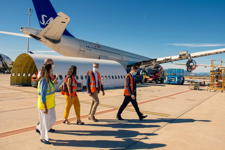El aeropuerto de Castellón recibe la oferta de una aerolínea en el concurso convocado para operar una nueva ruta nacional