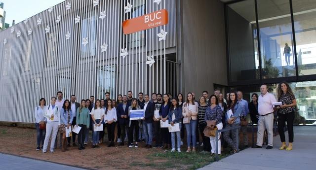 La jornada Vilaemprén pone en contacto a los 27 beneficiarios del programa Avalem Joves de Vila-real con experiencias de éxito
