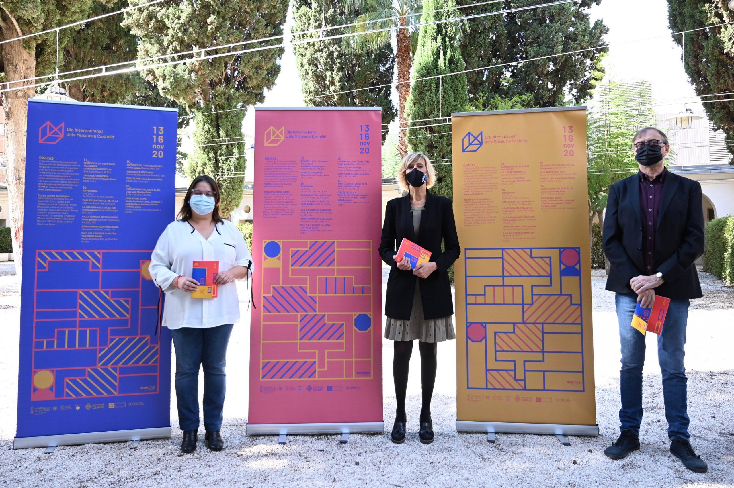 La Diputación se alía con el Ayuntamiento de Castelló y la Generalitat y lanza este noviembre el Día de los Museos