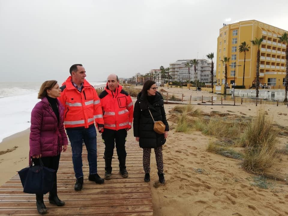 Peñíscola pierde la ayuda de la Diputación de Castelló para los daños del Gloria por presentar la solicitud fuera de plazo