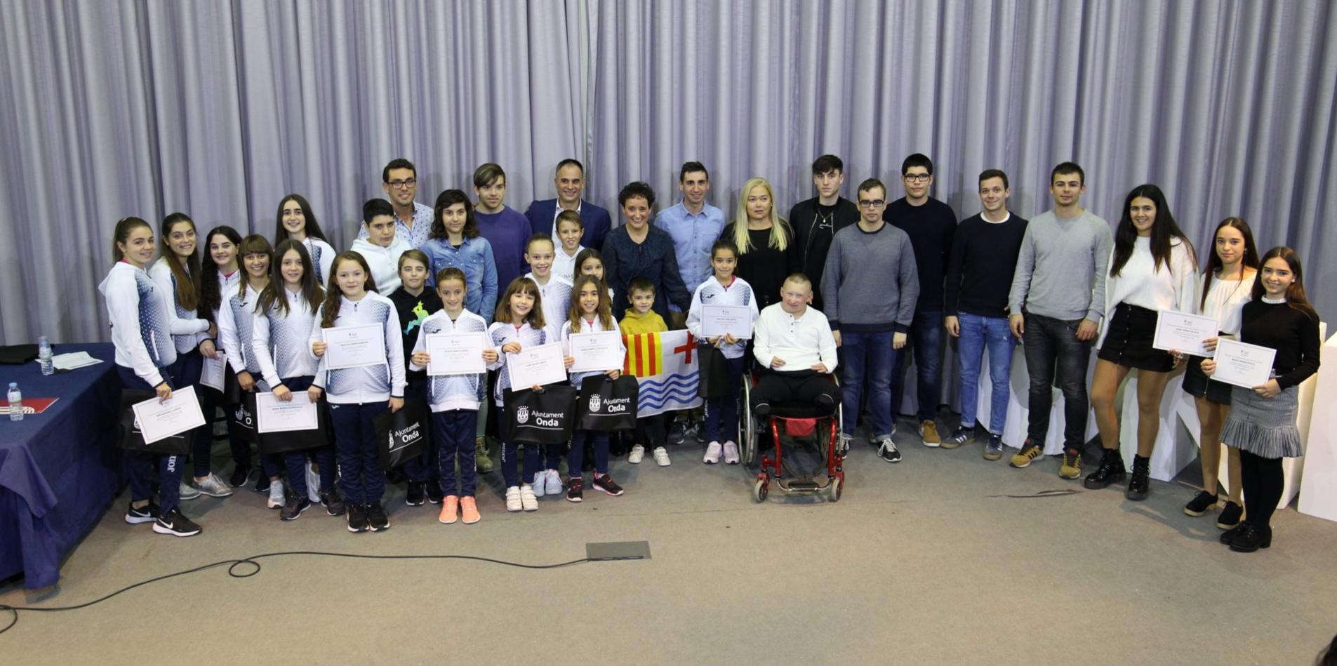Onda ayuda con 12.000 euros a 41 deportistas de élite y jóvenes promesas locales