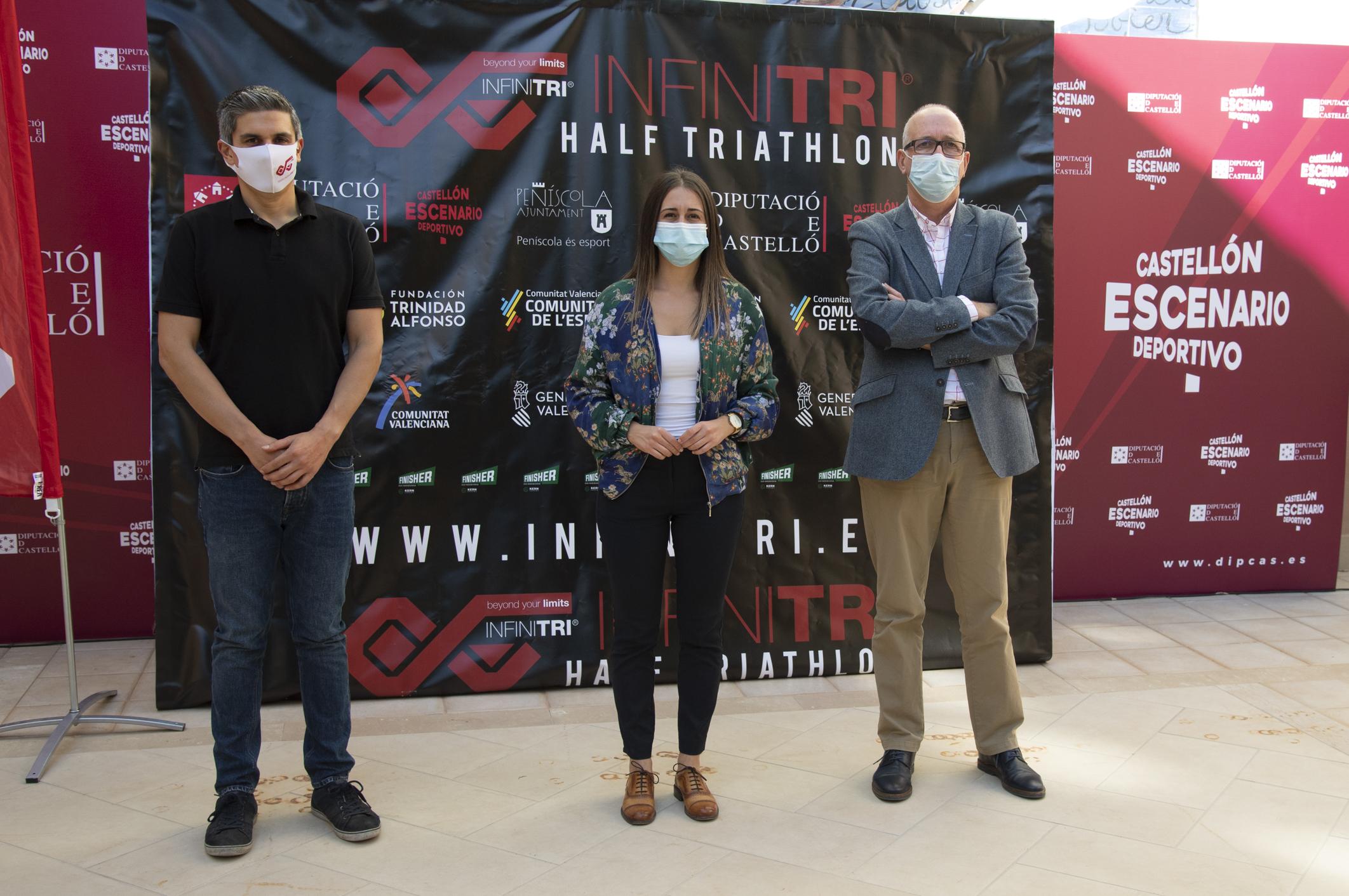 La Diputación de Castellón subvenciona con 25.000 euros la VIII Infitri Half Triathlon de Peñíscola