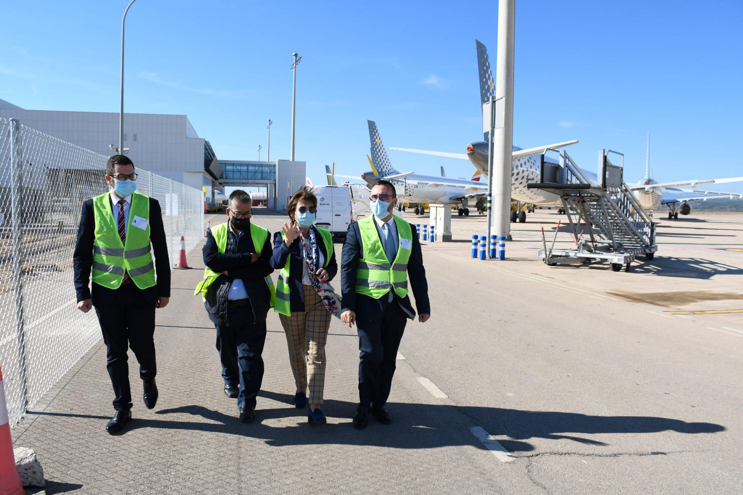 Benlloch cierra la participación del Aeropuerto de Castellón en la feria Destaca 2020 con un estand virtual